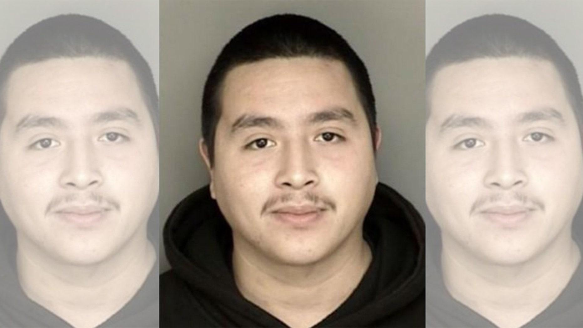 Alleged selfie-robber Victor Almanza-Martinez. (Photo: Pacific Grove Police Department)