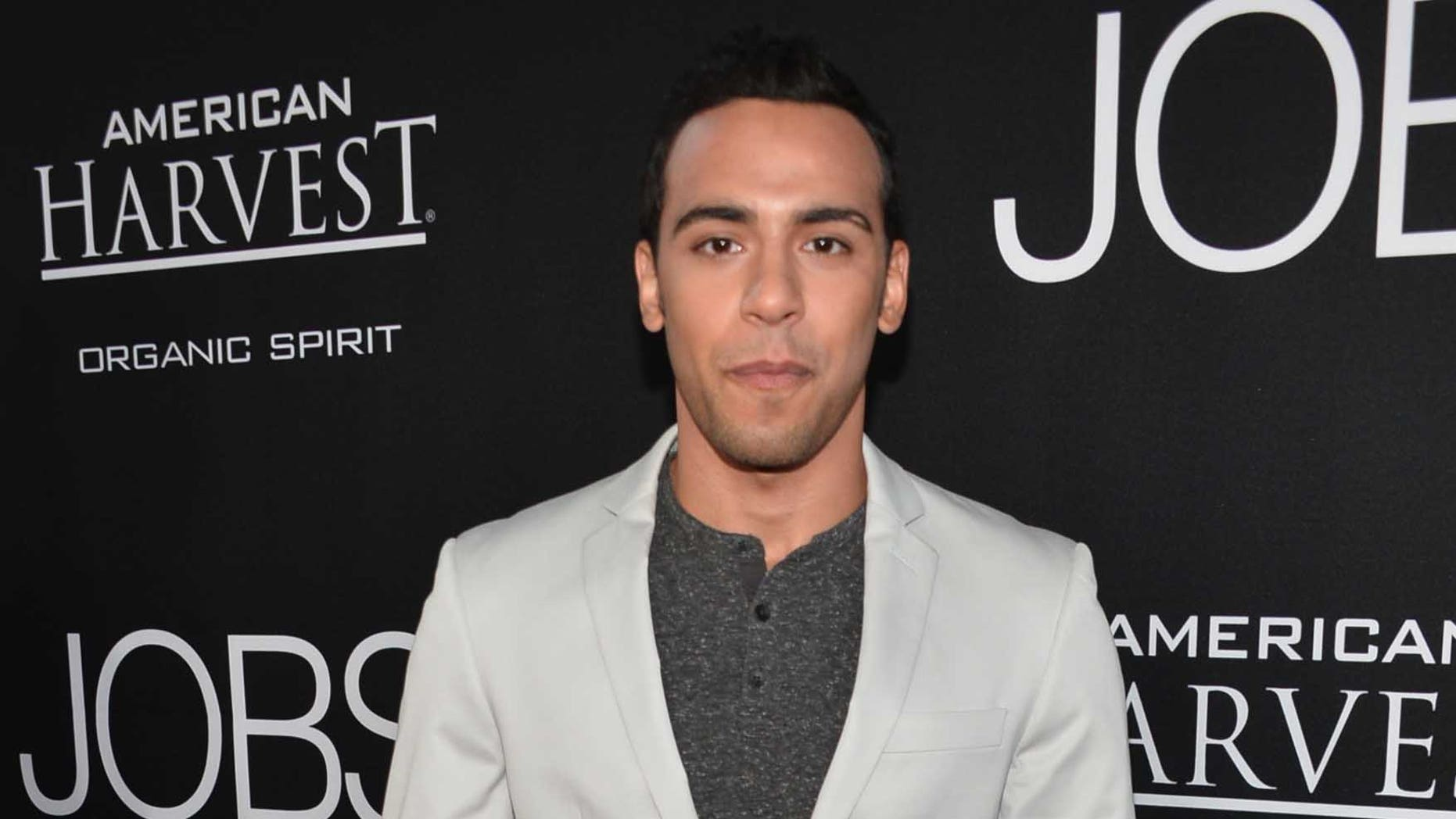 """LOS ANGELES, CA - AUGUST 13:  Actor Victor Rasuk attends the screening Of Open Road Films And Five Star Feature Films' """"Jobs"""" at Regal Cinemas L.A. Live on August 13, 2013 in Los Angeles, California.  (Photo by Alberto E. Rodriguez/Getty Images)"""