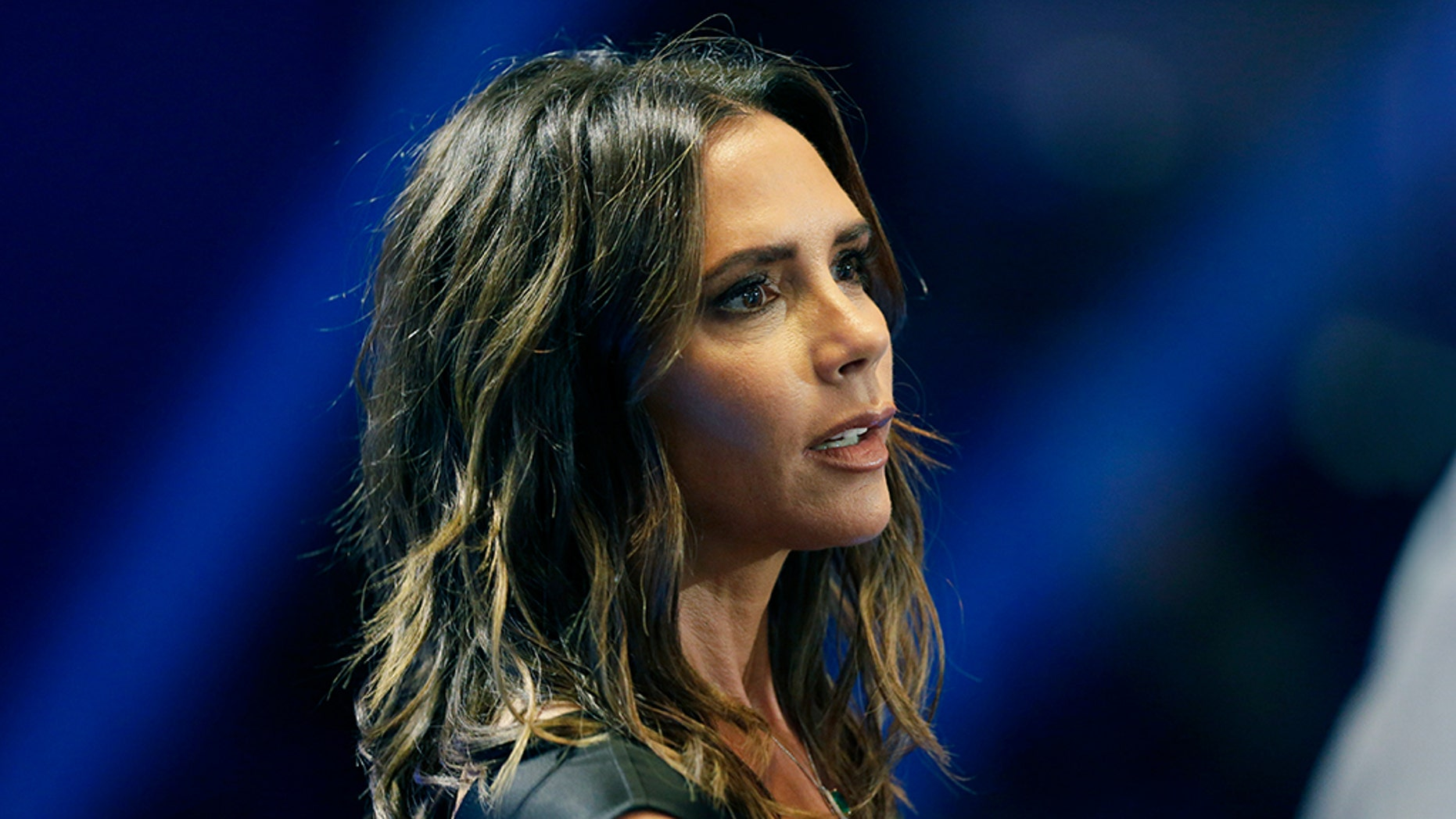 "Videos posted on Instagram show Victoria Beckham busting a move to a familiar tune: ""Spice Up Your Life."""