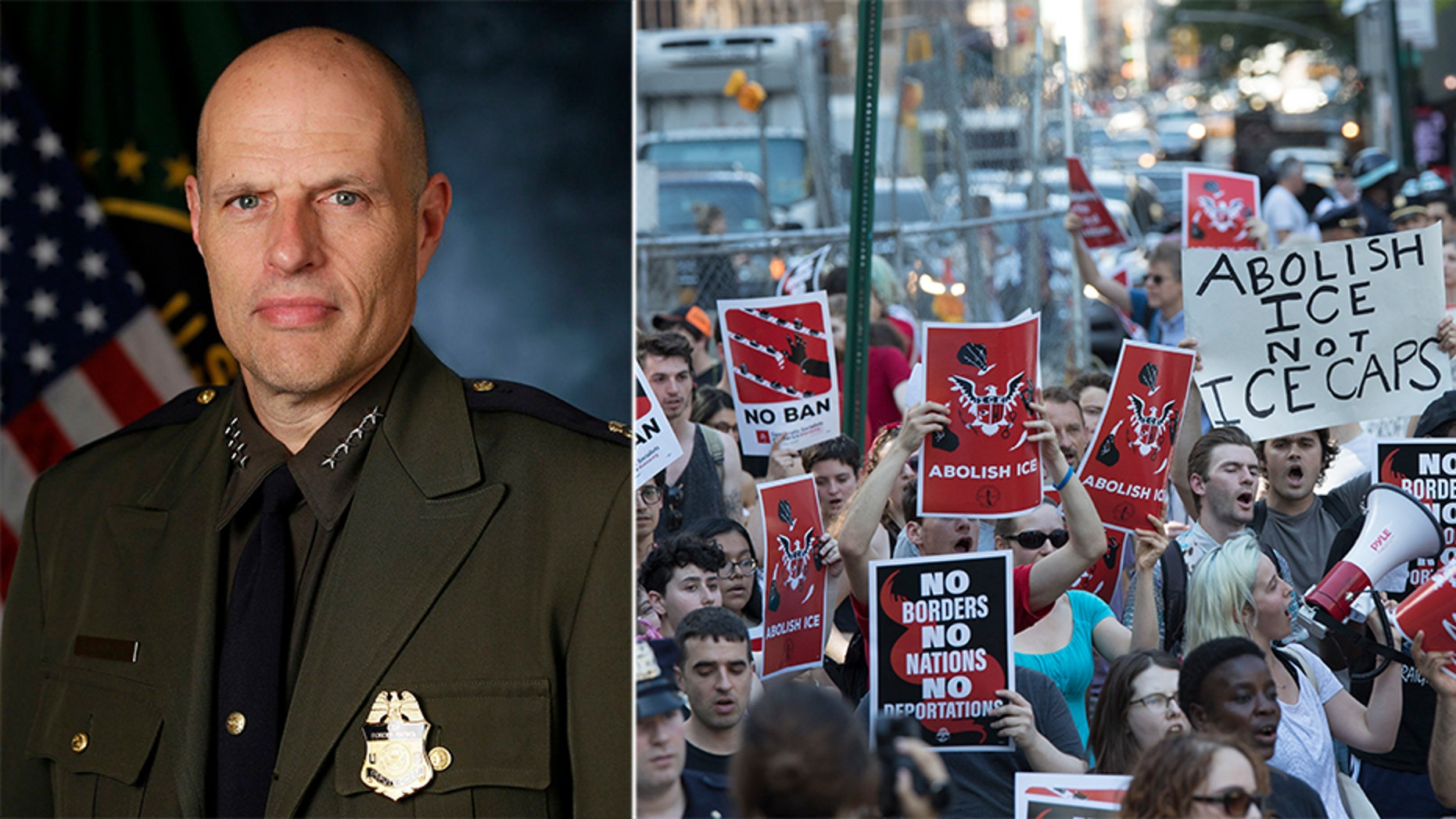 Ronald Vitiello is the acting director of U.S. Immigration and Customs Enforcement  (CBP Photo by Glenn Fawcett)