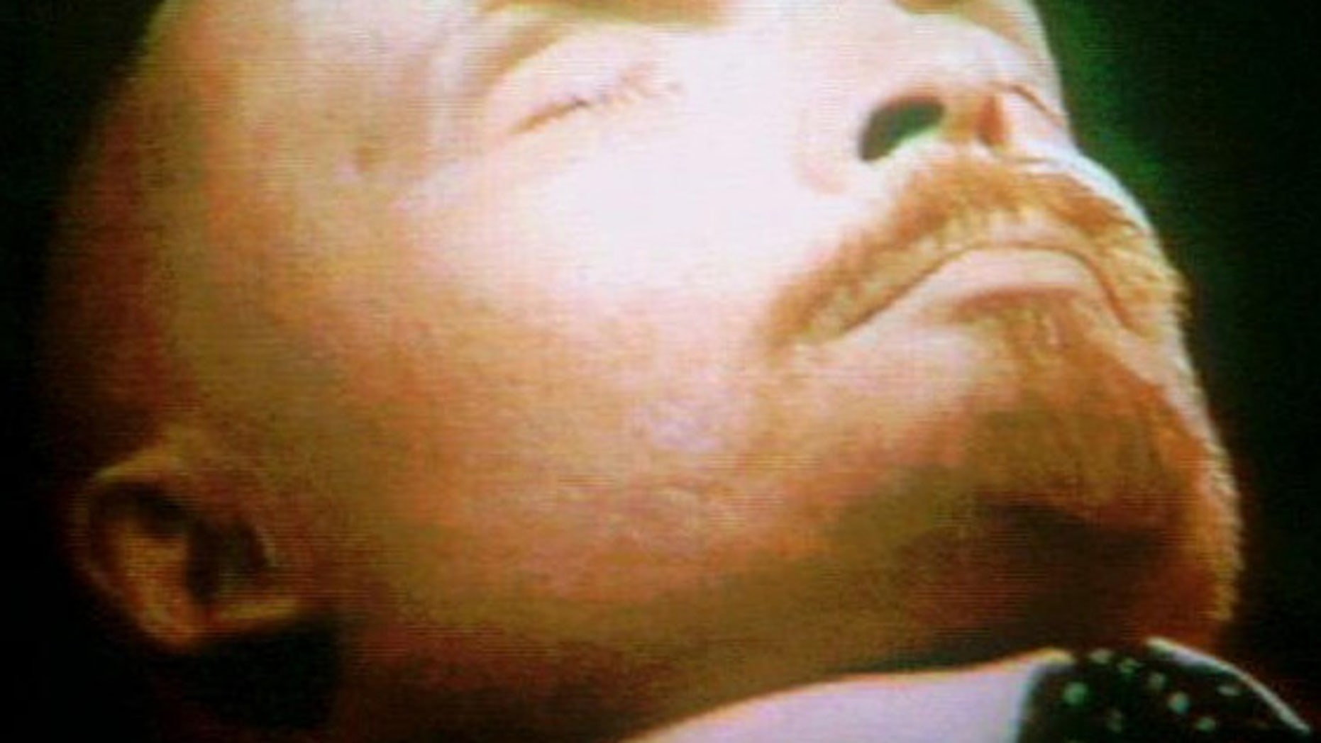 The embalmed body of Vladimir Lenin, who founded the Soviet Union, lies on public display in a Red Square mausoleum.