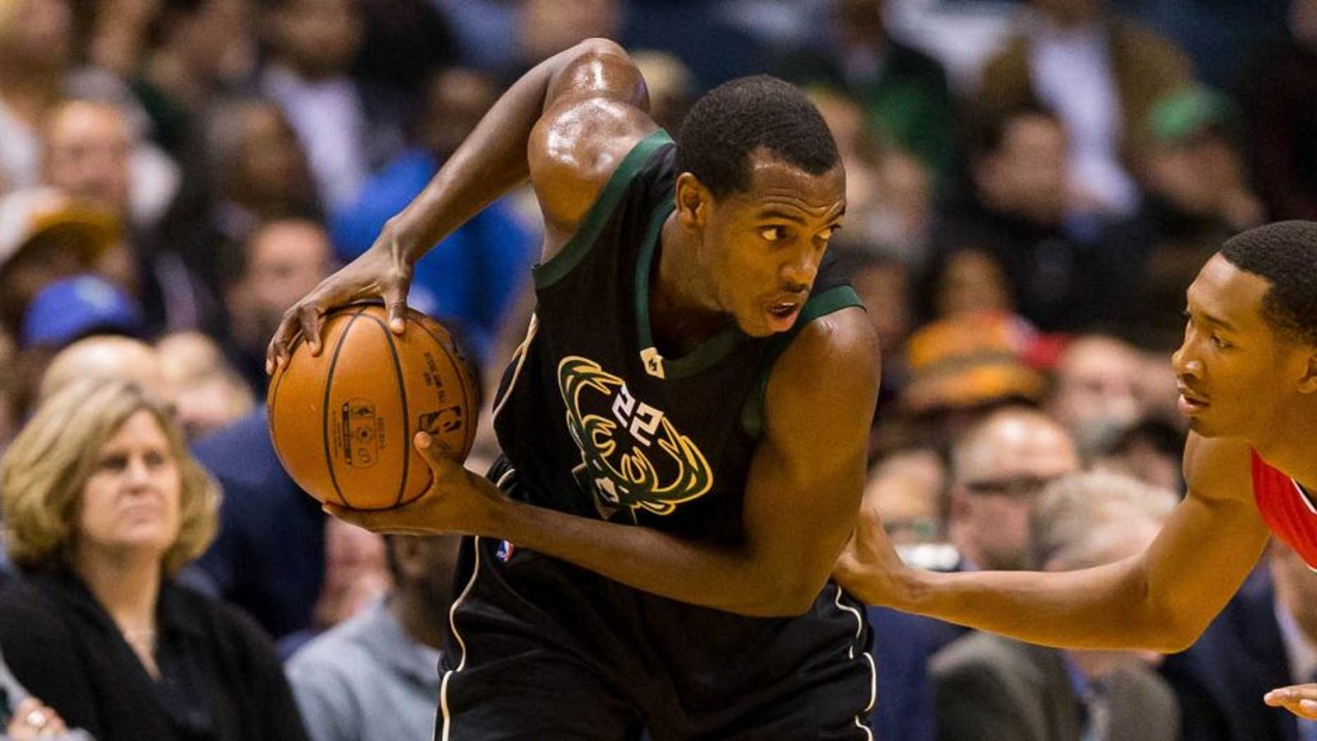 Wednesday, Dec. 9: Milwaukee Bucks guard Khris Middleton looks to pass during the game against the Los Angeles Clippers at BMO Harris Bradley Center.