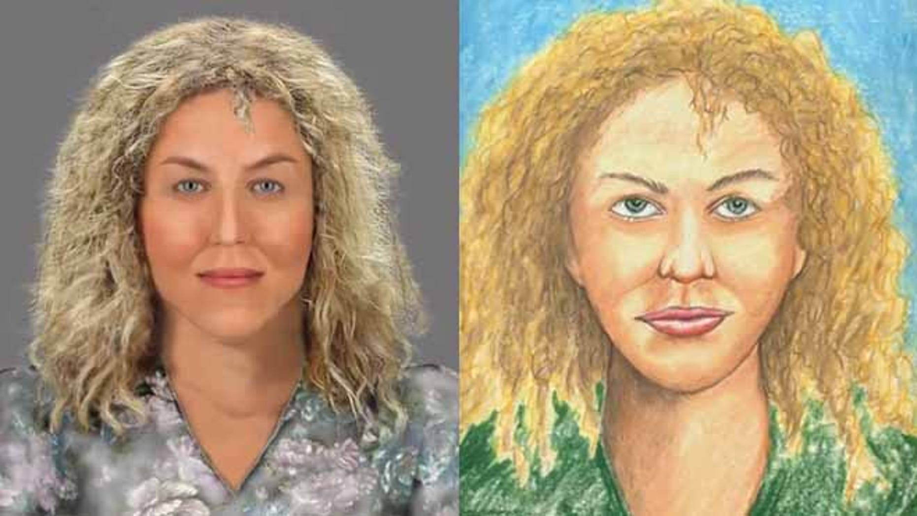 """Police are seeking the public's help in identifying the sixth victim of the """"Happy Face Killer."""""""