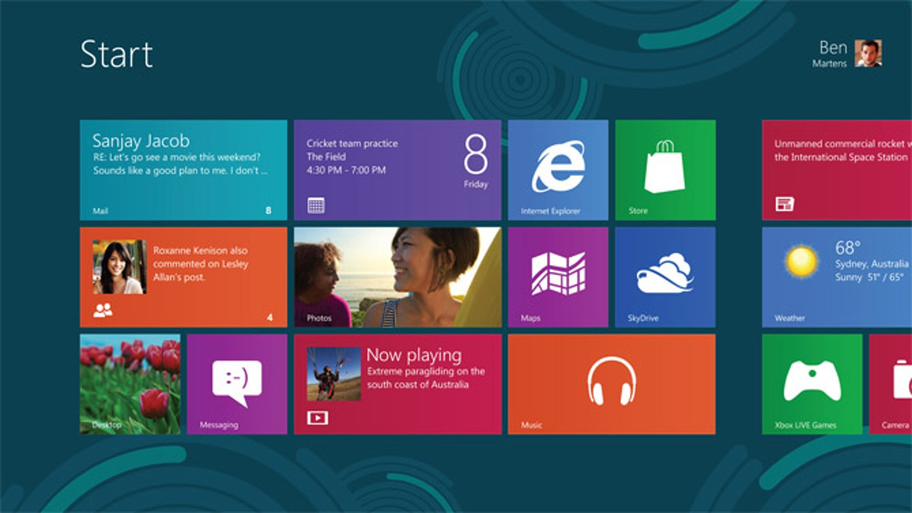 Microsoft Windows 8 Release Preview Unveiled  Touchpad