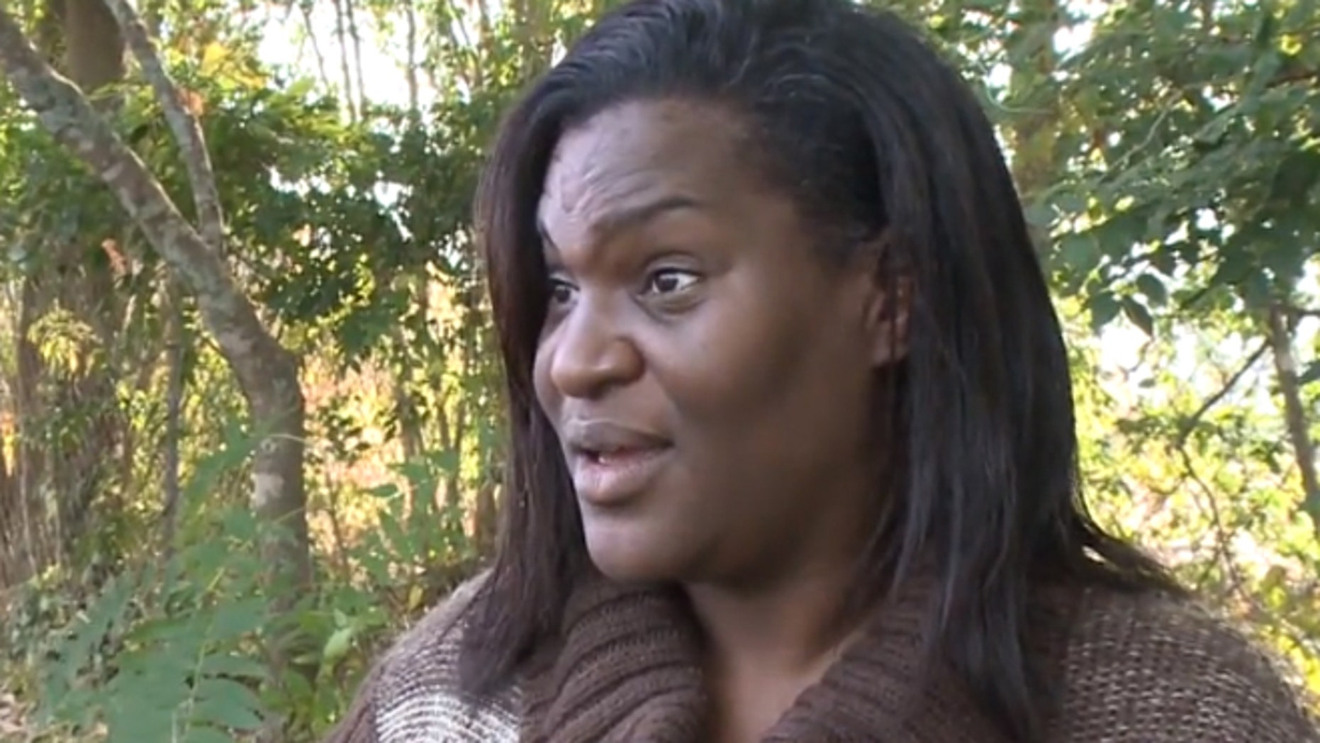 Tanya Mount says she was approached at the girl's school by a police officer from the Richmond County Board of Education who warned her that she was going to get a criminal trespass warning.