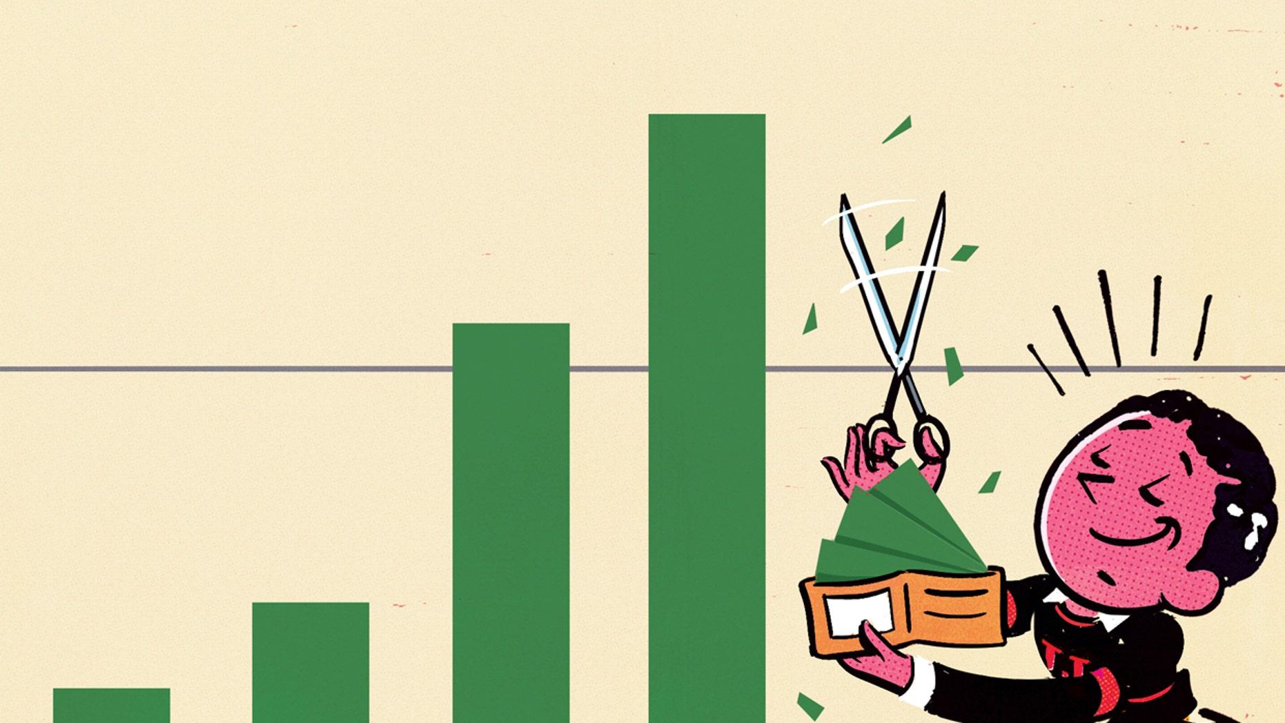 WSJ sell stocks buy home