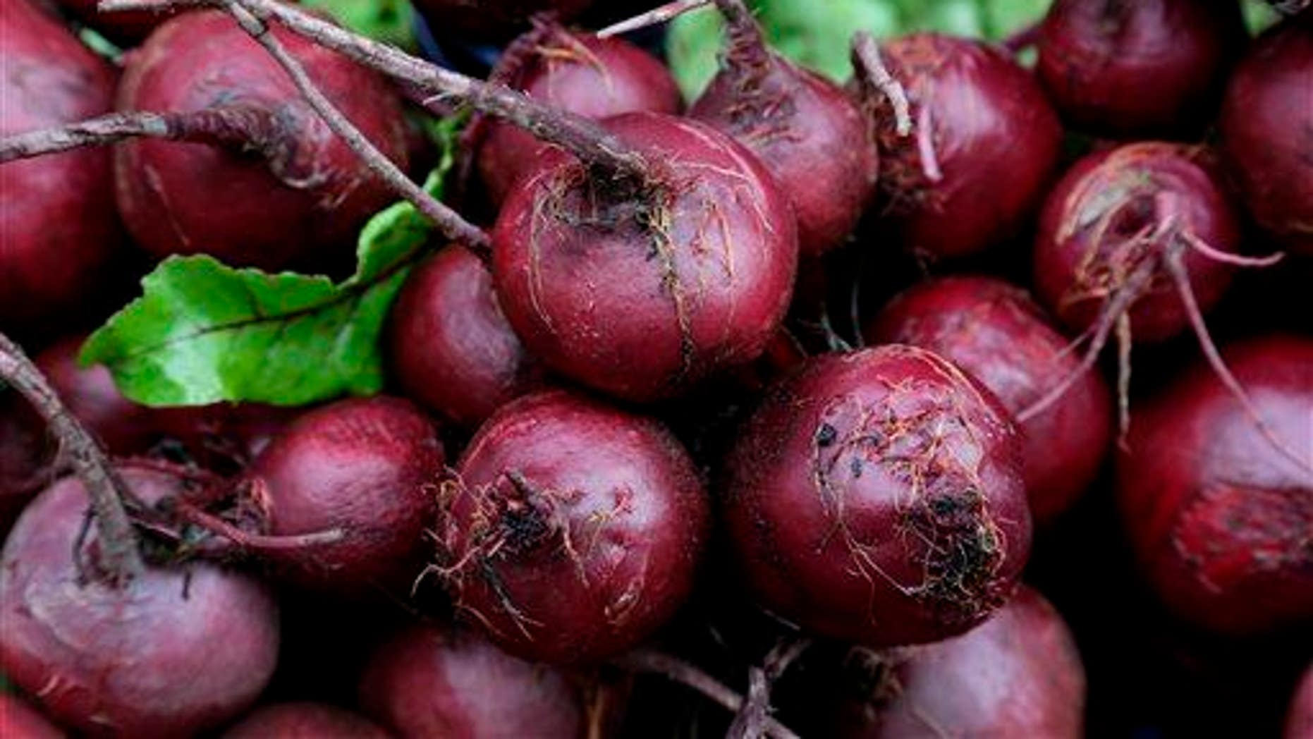 Beets are shown.