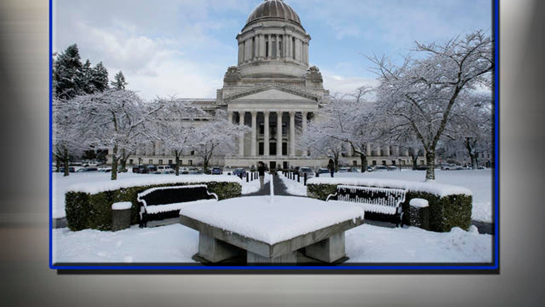 Capitol building in Olympia, Washington. AP
