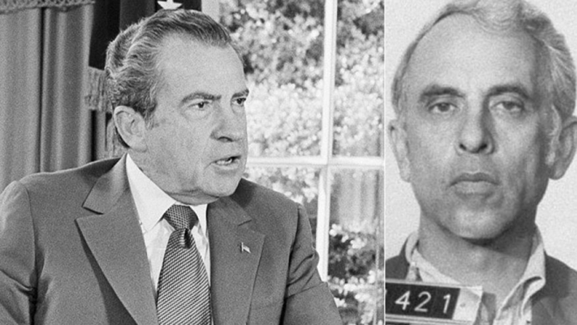 President Richard Nixon, left, and Watergate burglar and CIA agent, Eugenio Martinez. (Photos: Associated Press)