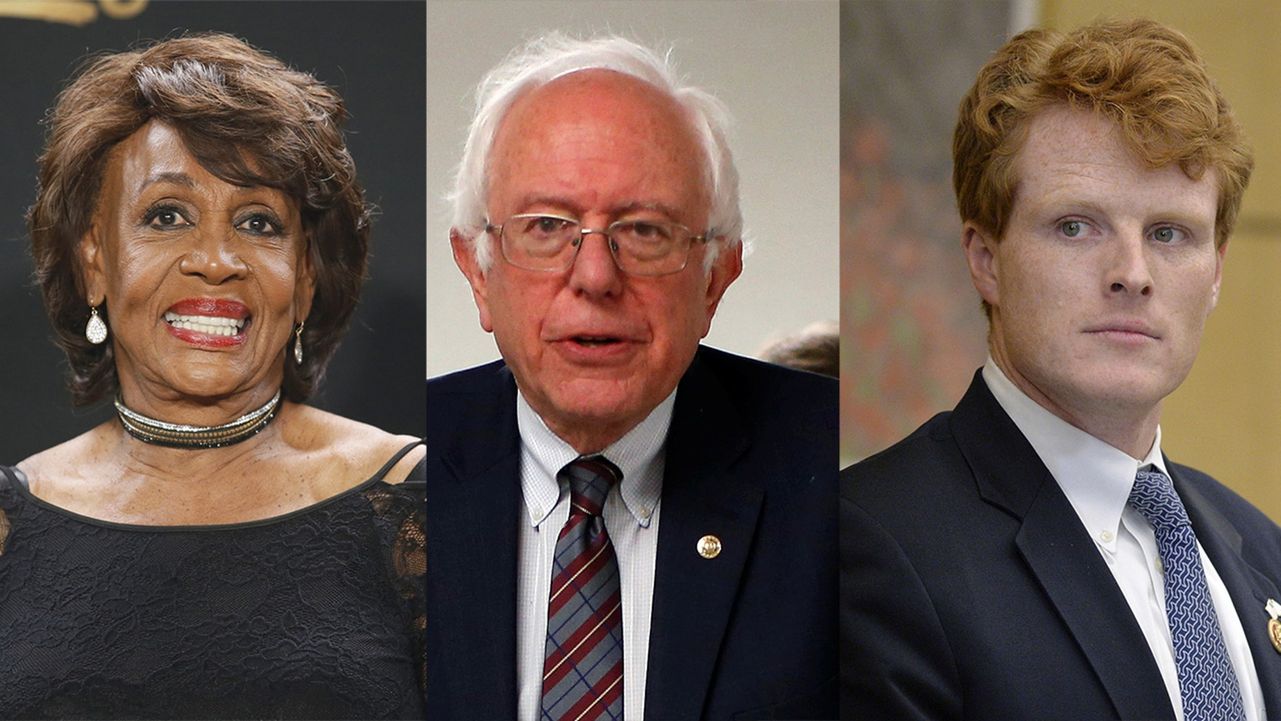 Maxine Waters, Bernie Sanders and Joseph Kennedy III will each respond to President Trump' address. But wait, there's more.