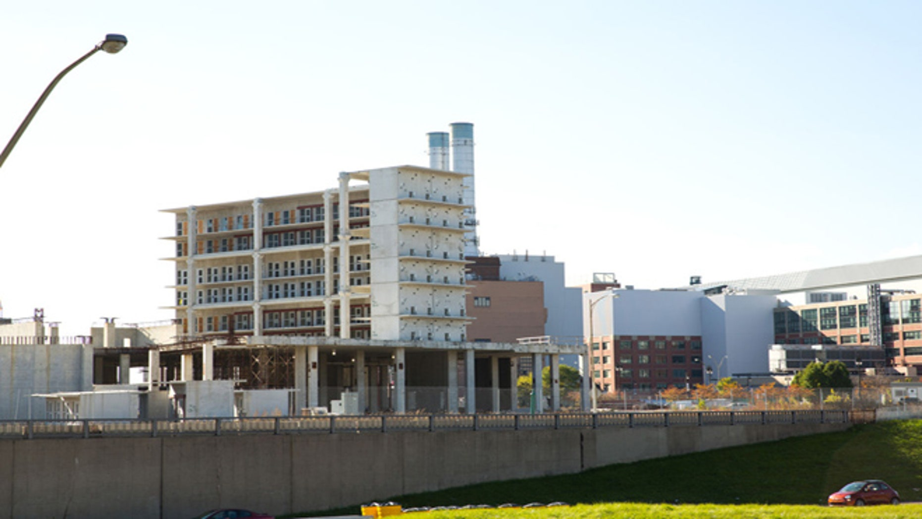 Four years after breaking ground and with construction costs totaling $151 million, the Wayne County Jail sits empty in downtown Detroit. The empty structure is costing taxpayers upwards of $1.2 million in upkeep per month. (AP)
