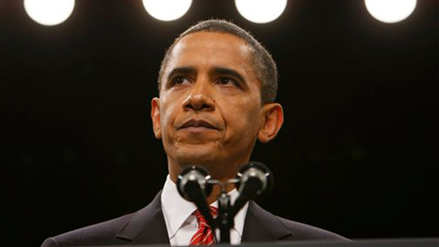 President Obama speaks at West Point. Under pressure from Republicans and an impatient public to fix the sputtering economic recovery, Obama is refocusing on this politically potent issue by talking job creation with business and labor leaders at the White House. Dec. 1, 2009. (AP)