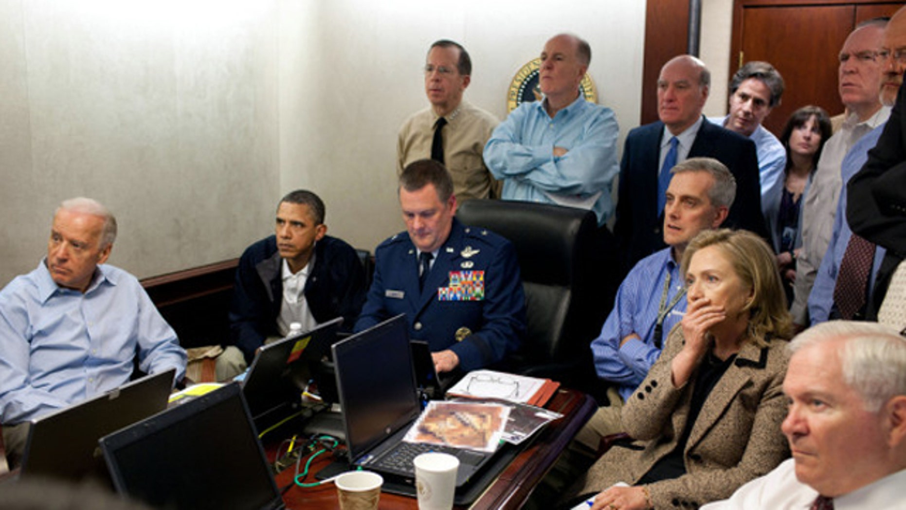 Top-level officials get updated on the status of the mission to kill Usama bin Laden