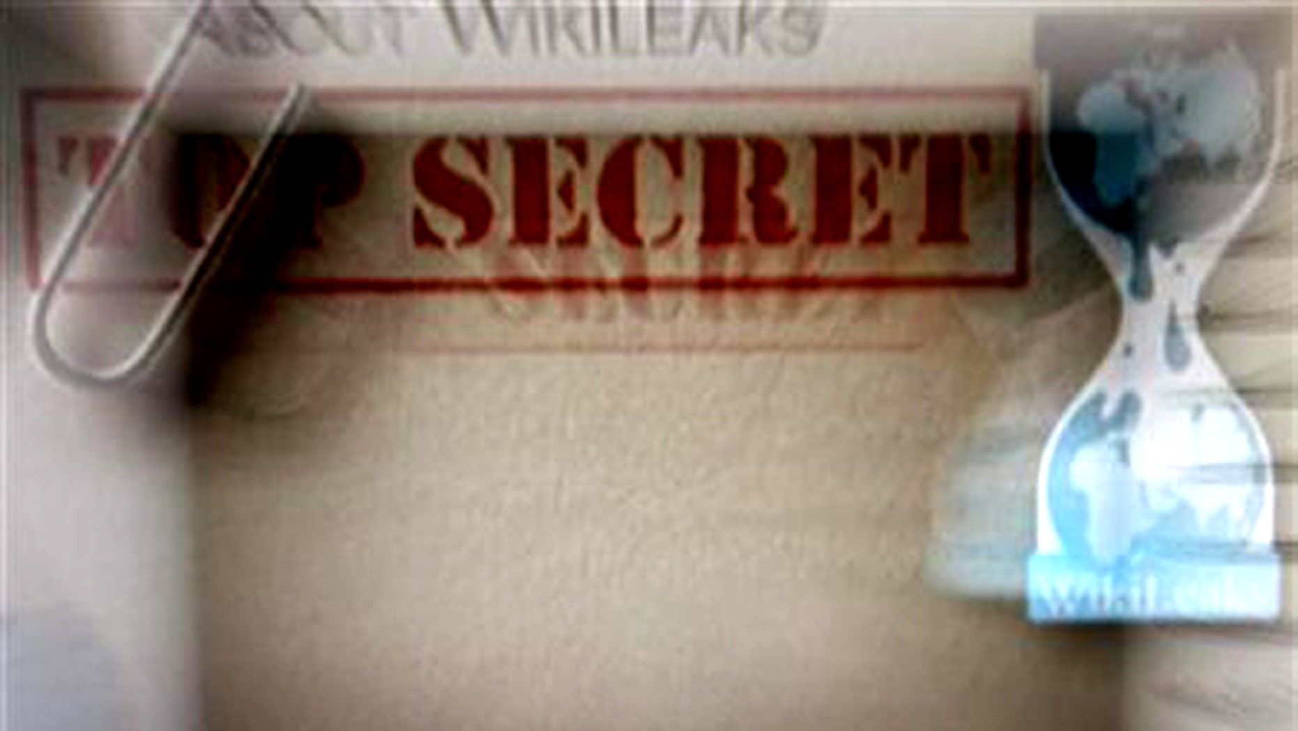 The homepage of the WikiLeaks.org website is pictured in Beijing December 2, 2010.