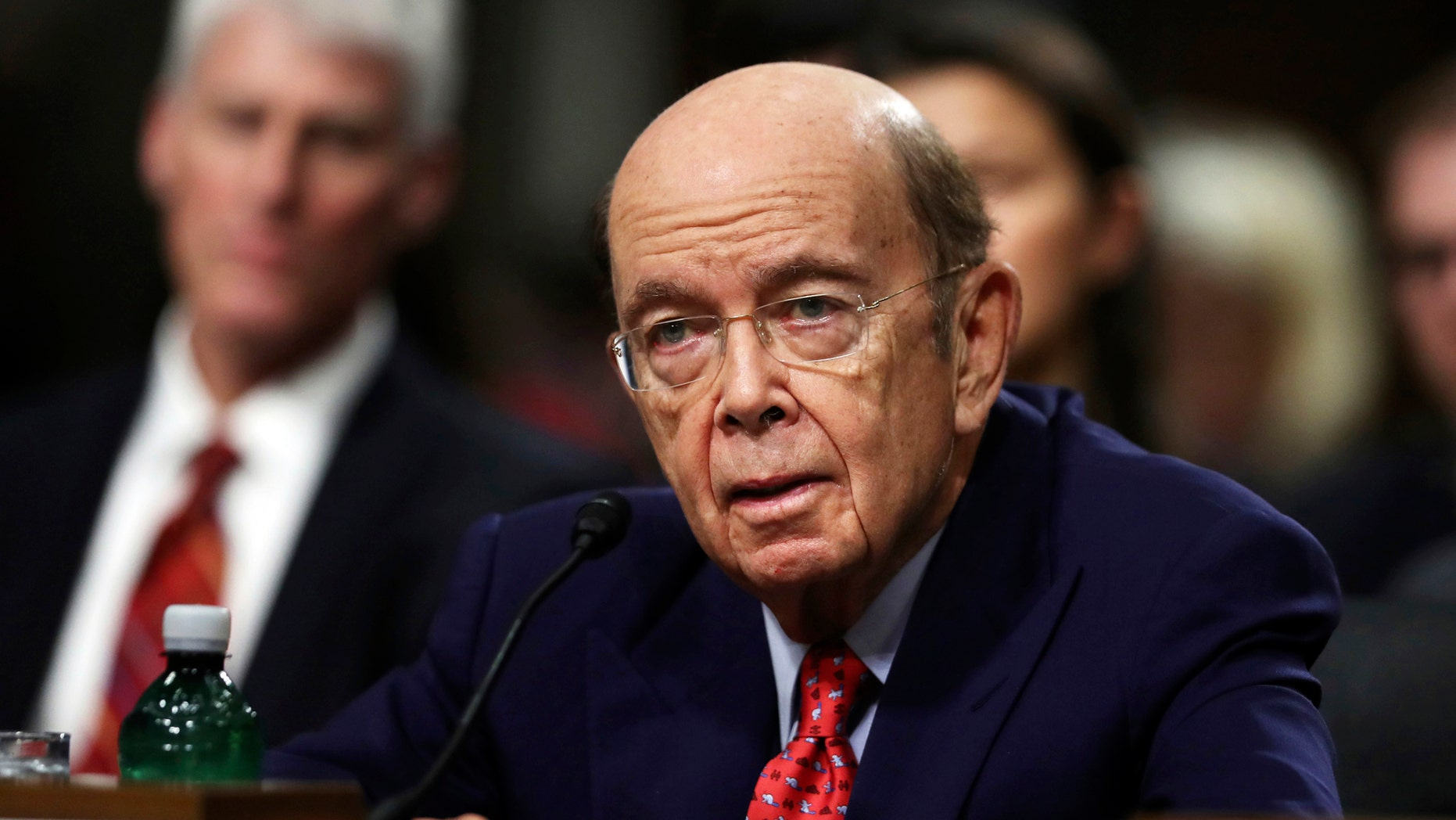 Commerce Secretary Wilbur Ross can't be questioned in lawsuits challenging his decision to add a citizenship question to the 2020 census, the Supreme Court ordered.