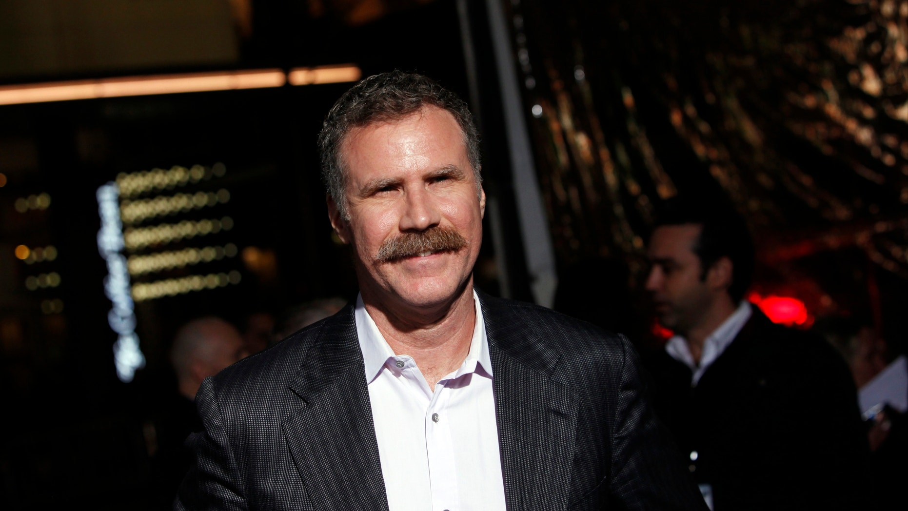 """Producer and actor Will Ferrell arrives at the premiere of the film """"Hansel and Gretel: Witch Hunters"""" at Grauman's Chinese Theatre in Hollywood, California January 24, 2013."""