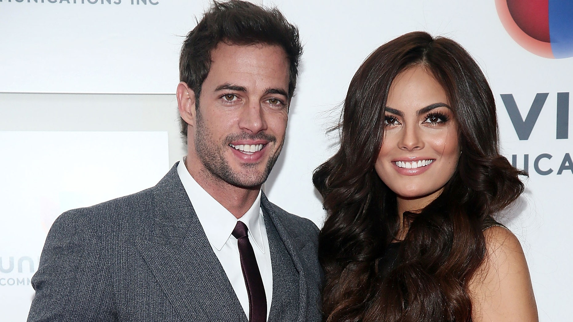 """NEW YORK, NY - MAY 14:  (L-R) William Levy and Jimena """"Ximena"""" Navarrete attend the  2013 Univision Upfront Presentation at Espace on May 14, 2013 in New York City.  (Photo by Astrid Stawiarz/Getty Images)"""