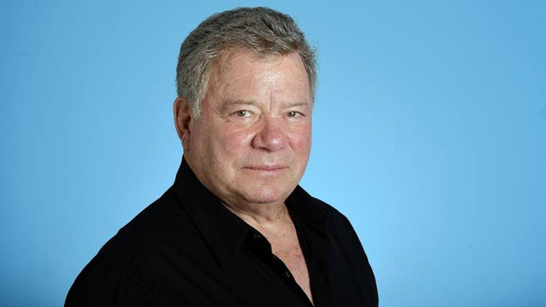 """Star Trek"" actor William Shatner."