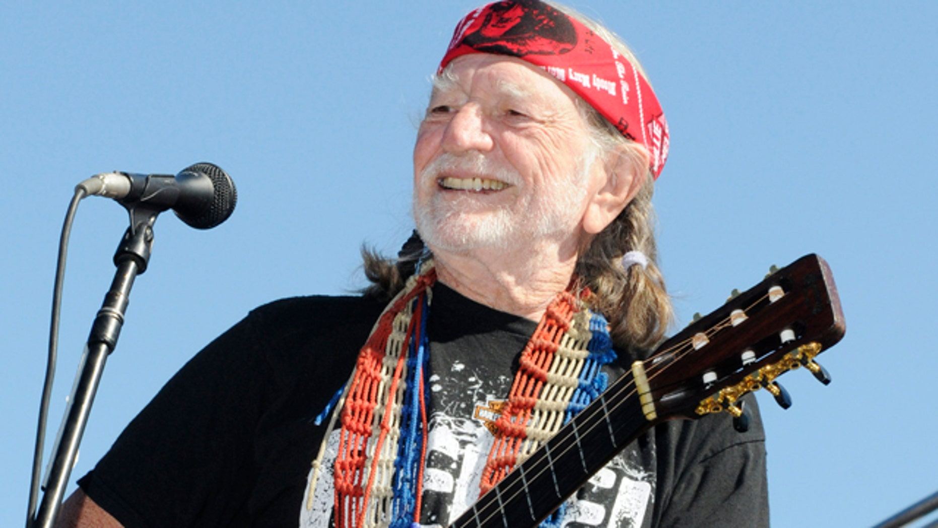 Country legend Willie Nelson