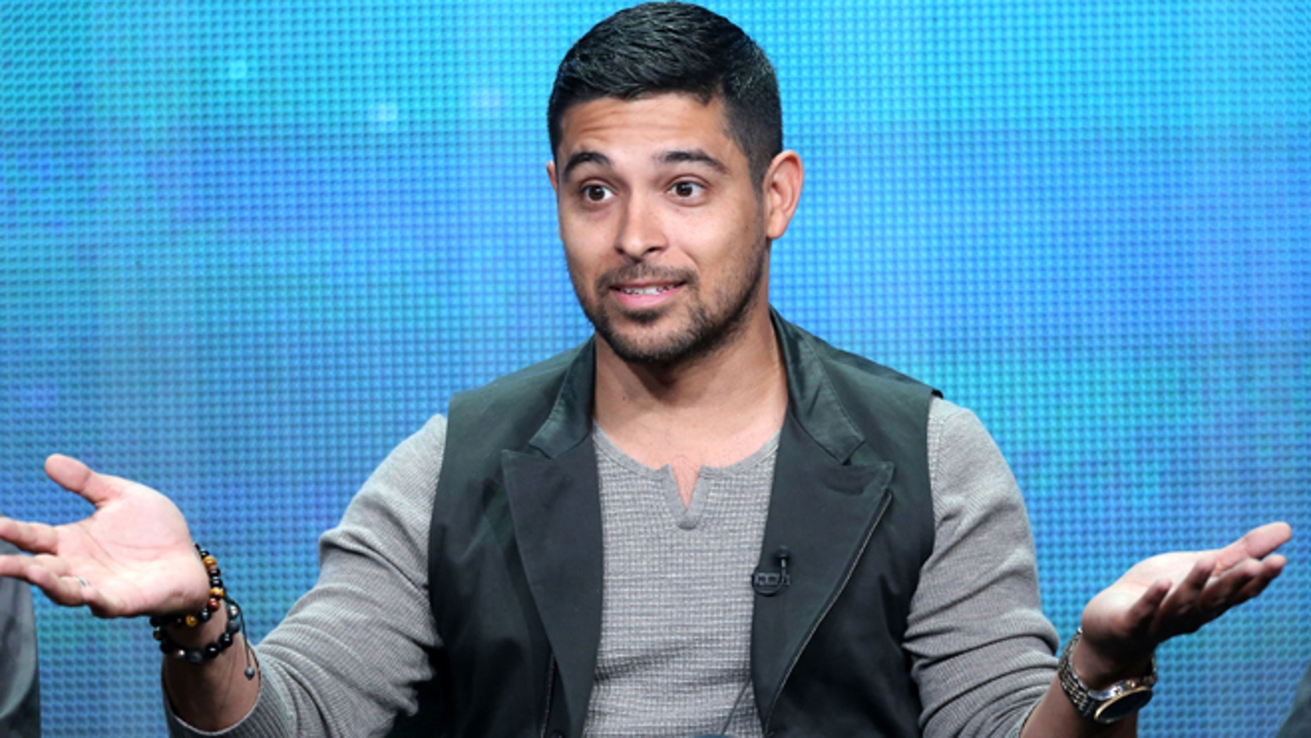 BEVERLY HILLS, CA - AUGUST 07:  Actor Wilmer Valderrama speaks onstage during 'The Graduates/Los Graduados' panel discussion at the PBS portion of the 2013 Summer Television Critics Association tour at the Beverly Hilton Hotel on August 7, 2013 in Beverly Hills, California.  (Photo by Frederick M. Brown/Getty Images)
