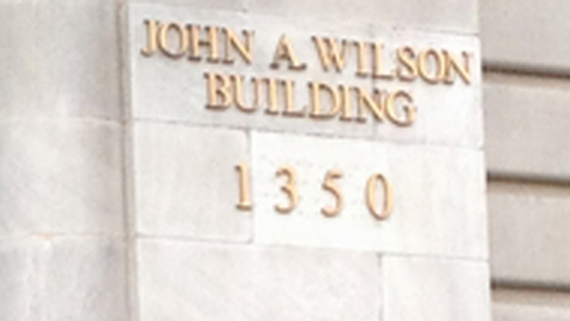 FILE: 2014: John A. Wilson Building, the District of Columbia's city hall, in Washington, D.C.