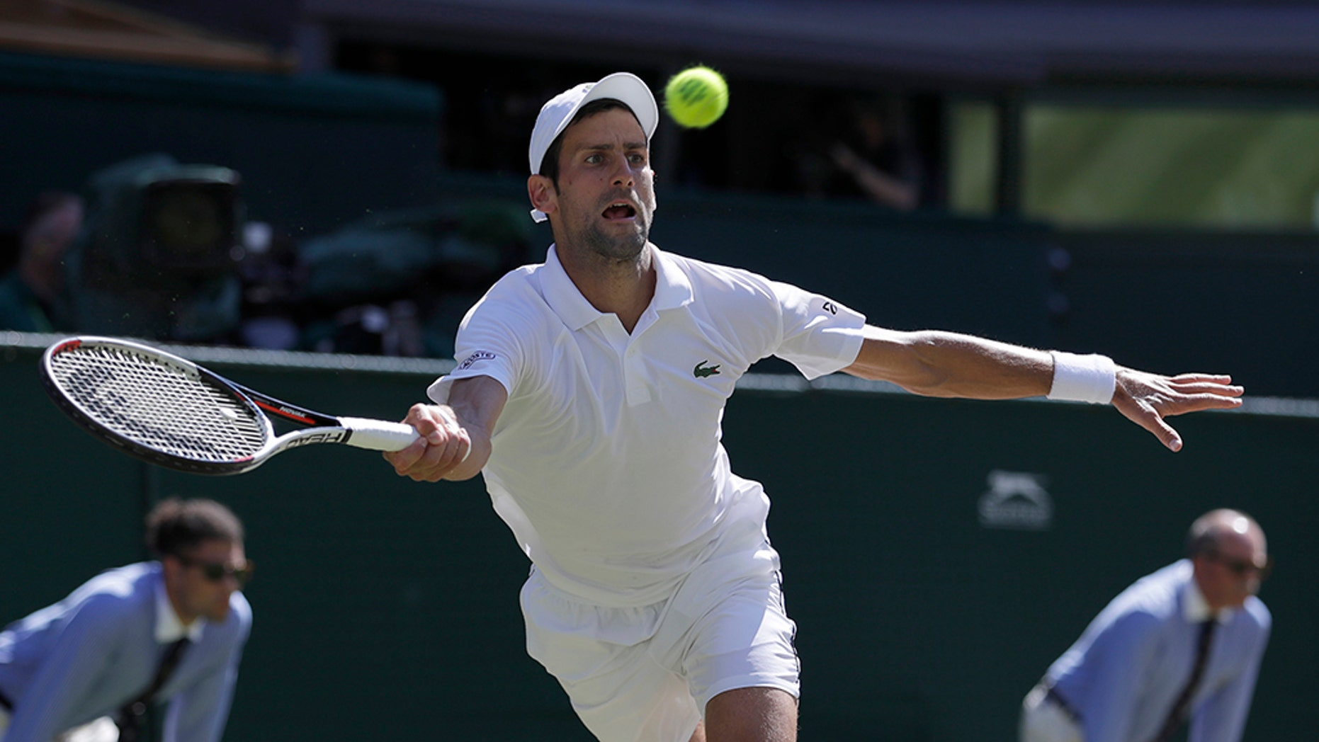 Serbia's Novak Djokovic won his fourth Wimbledon title on Sunday.