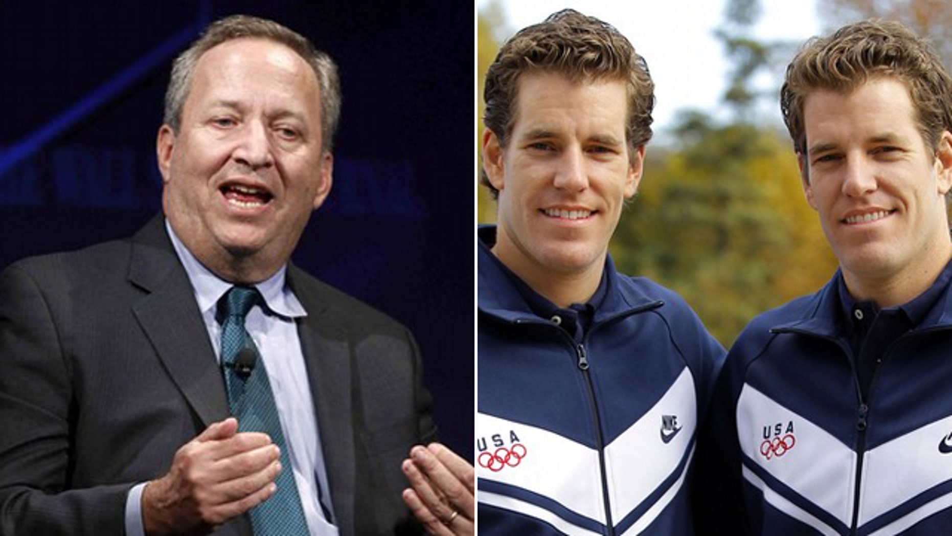 "Larry Summers recalls a conversation he had with the Winklevoss twins that was portrayed in ""The Social Network."""