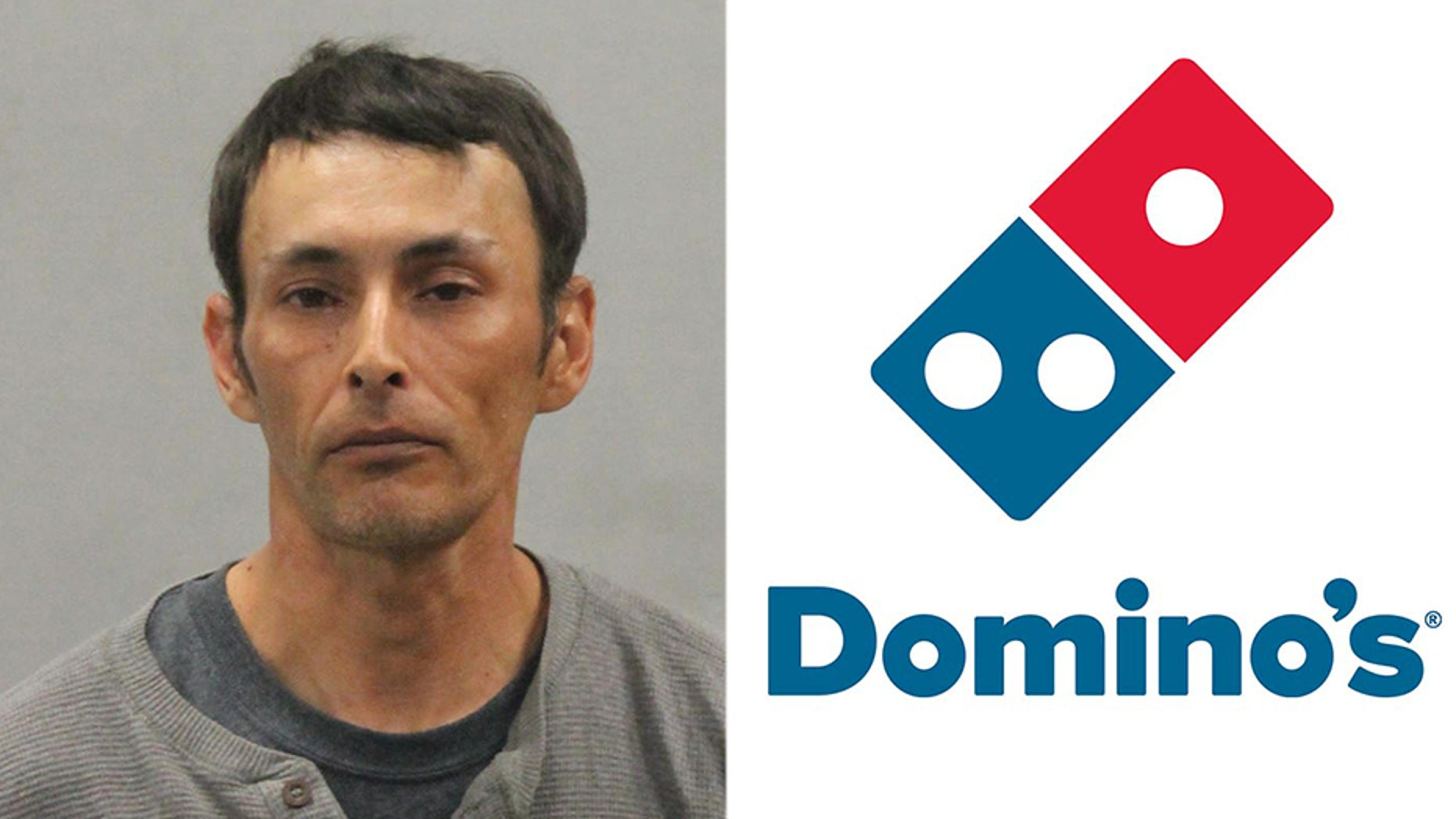 "A Domino's customer was arrested after getting into a fight with staff over his ""pizza points"" and taunting police officers."