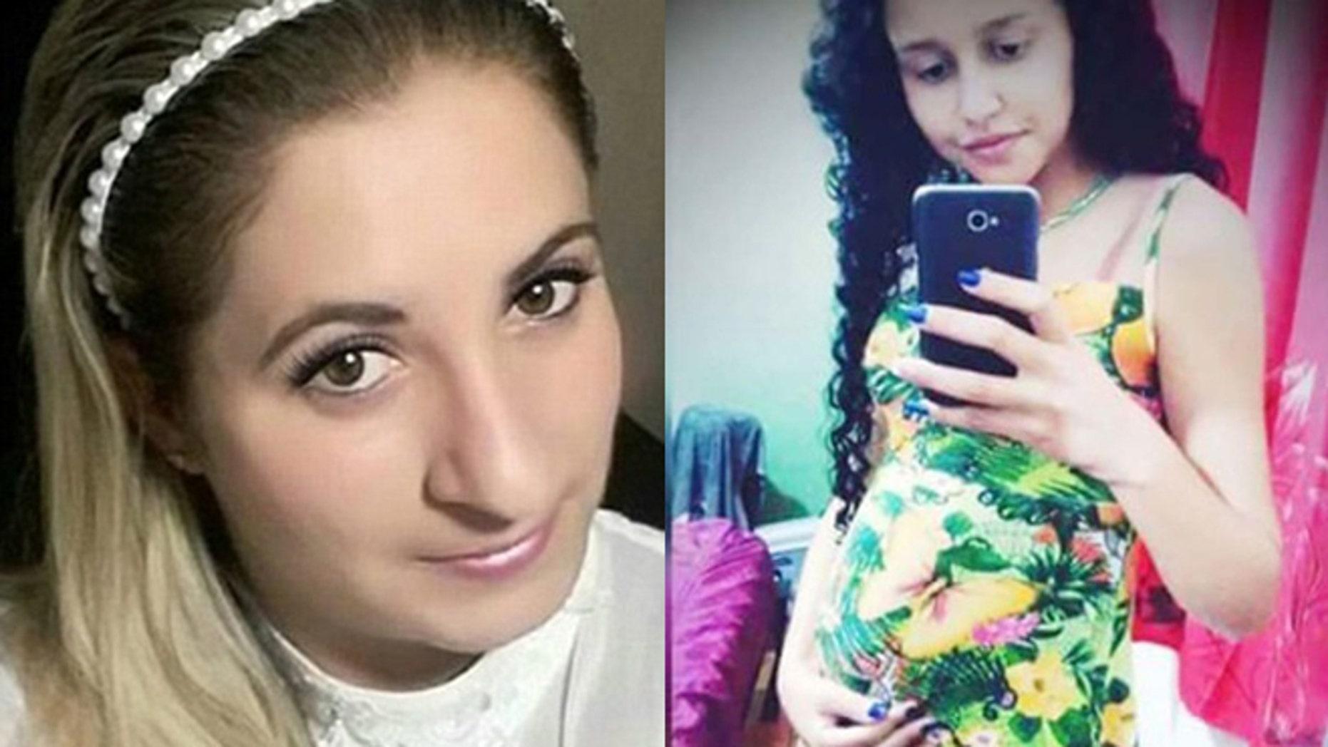 Mirian Siqueria (left) and Valissia Fernandes de Jesus (right). (Photos: via Facebook)
