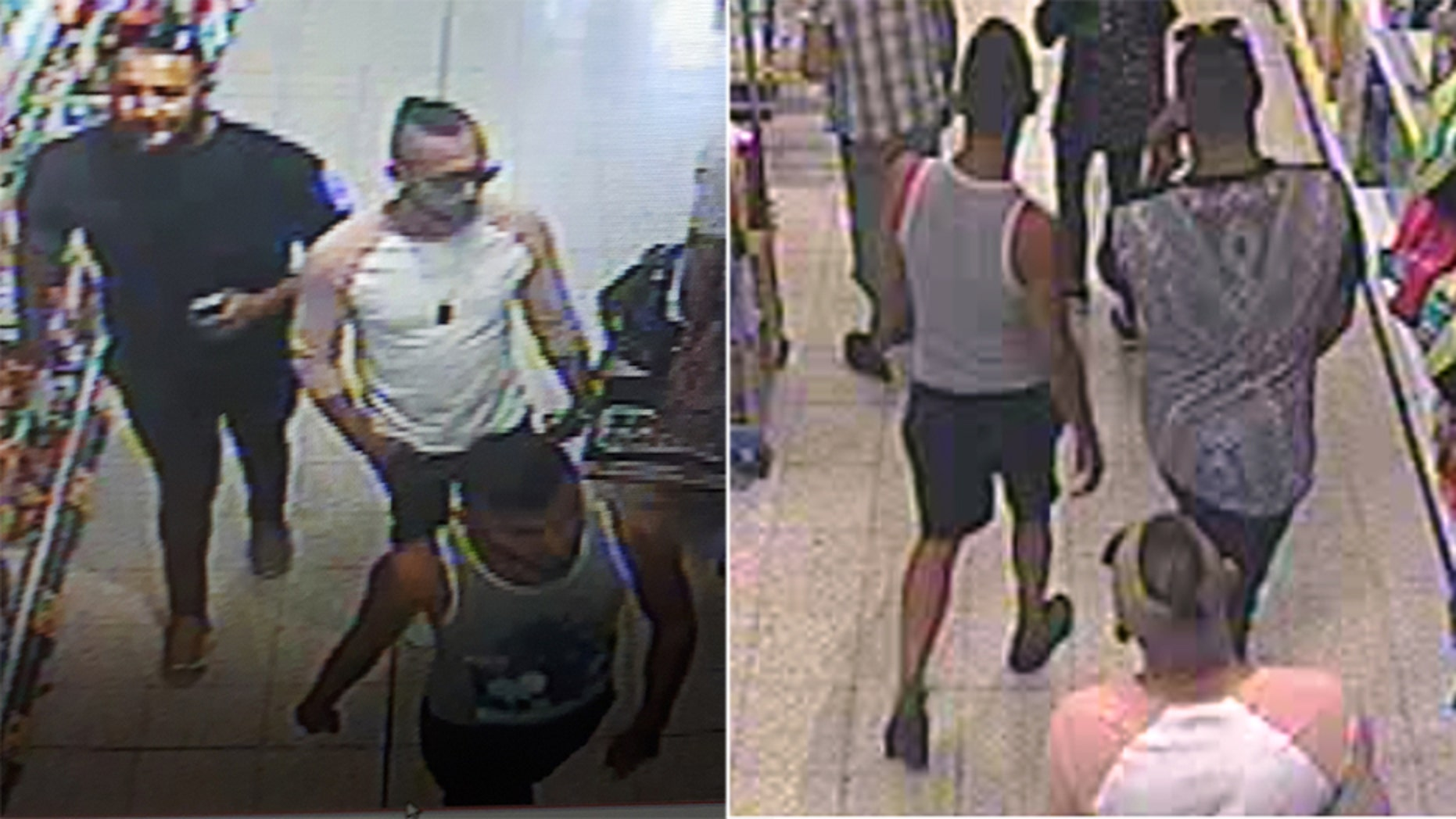 Authorities in England are looking for 3 men after a boy was seriously injured in a suspected acid attack on Sunday.