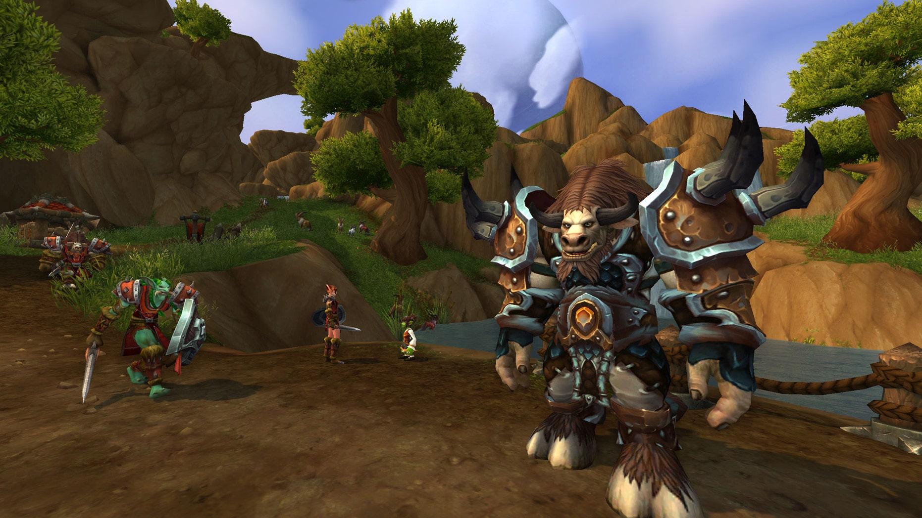 """World of Warcraft: Warlords of Draenor"" screenshot"