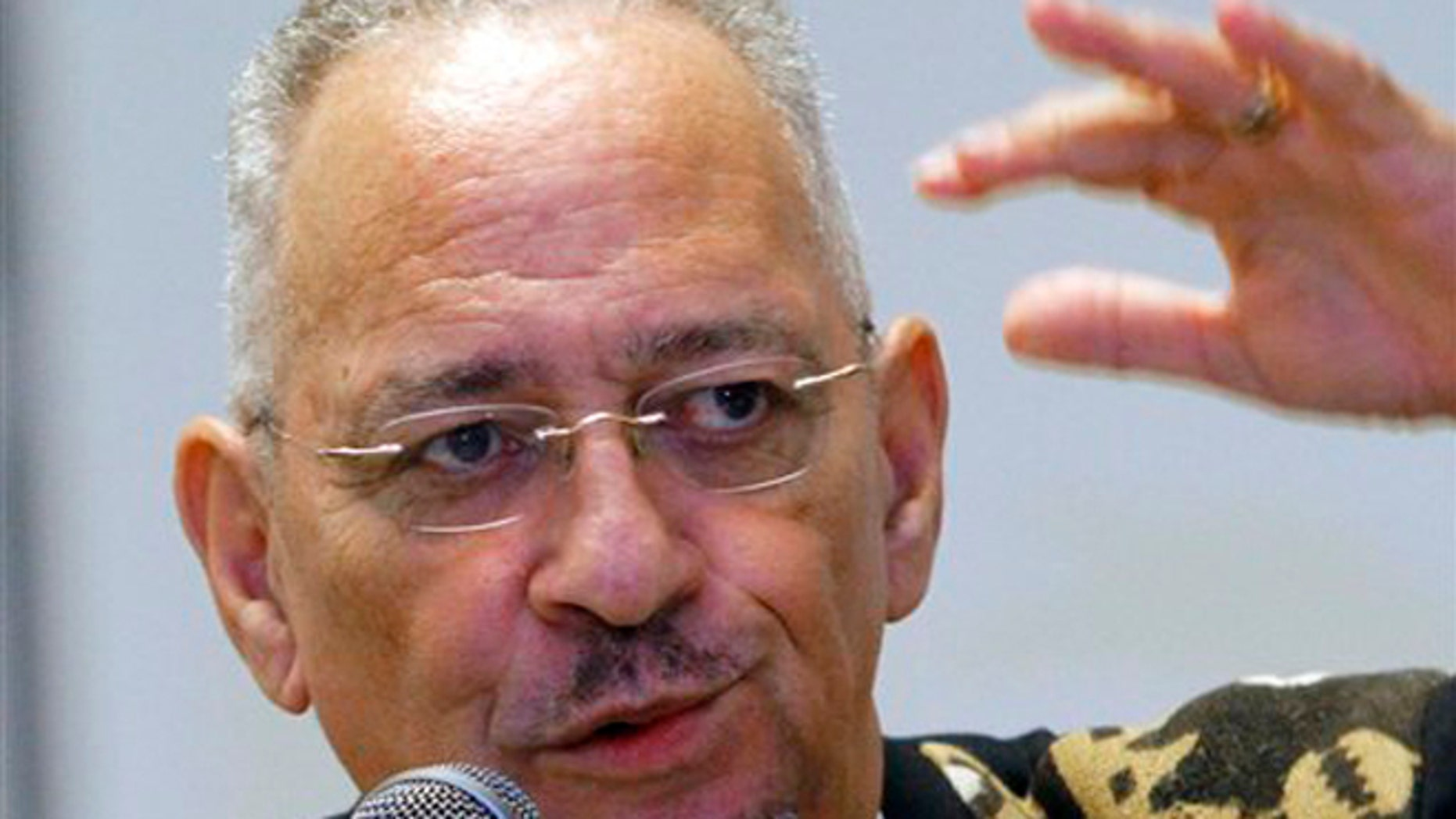FILE:  March 25, 2012:  The Rev. Jeremiah Wright speaks in Jackson, Miss.