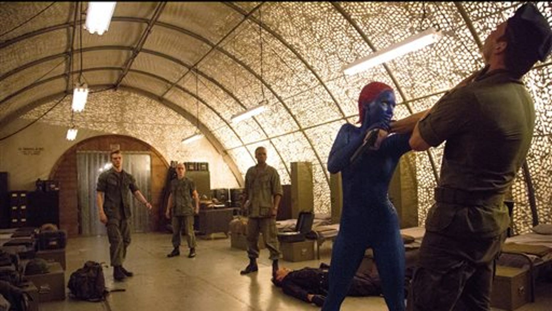 """This image released by 20th Century Fox shows Jennifer Lawrence in """" X-Men: Days of Future Past."""""""
