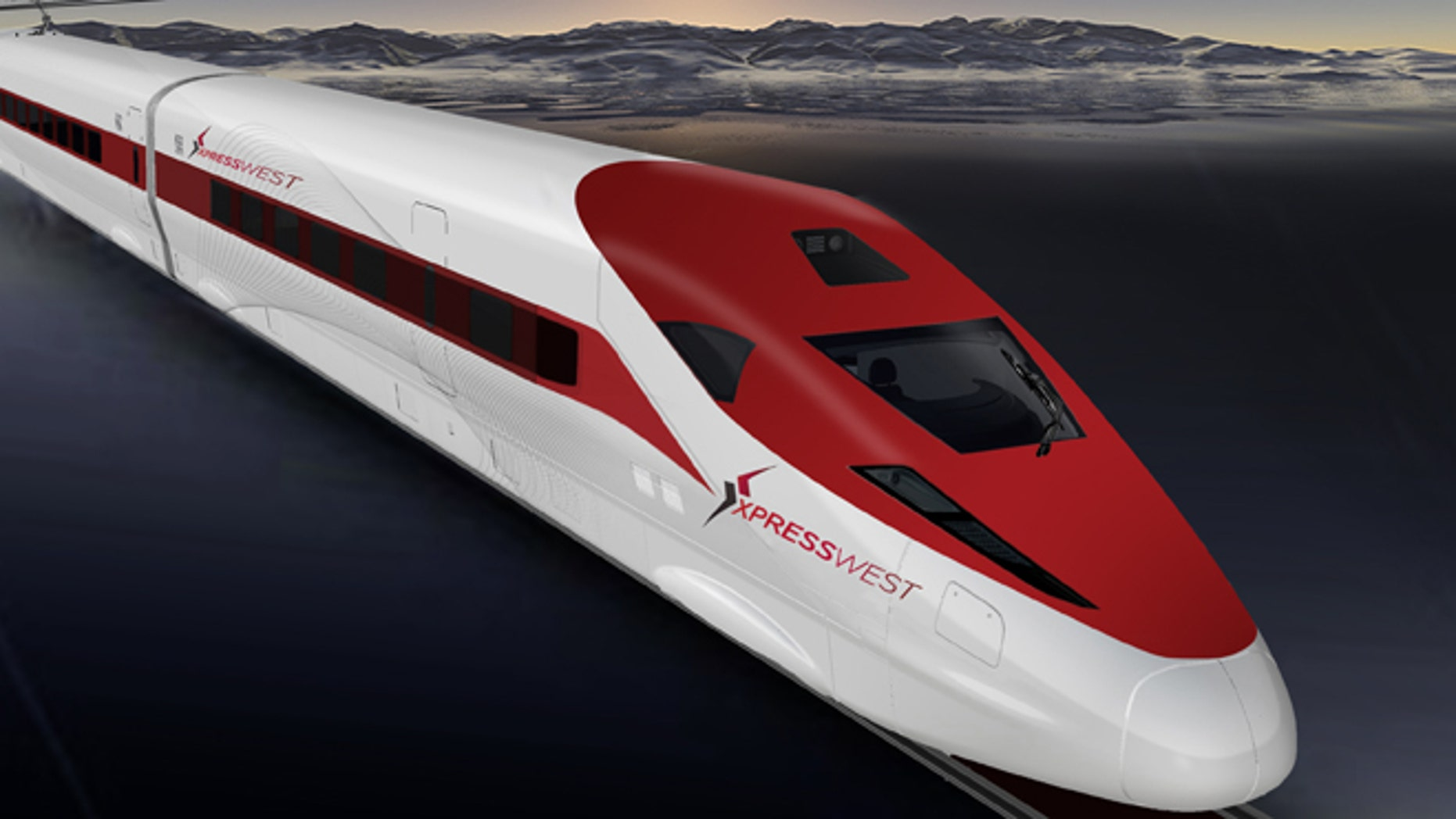Shown here is a computer rendering of the XpressWest project.