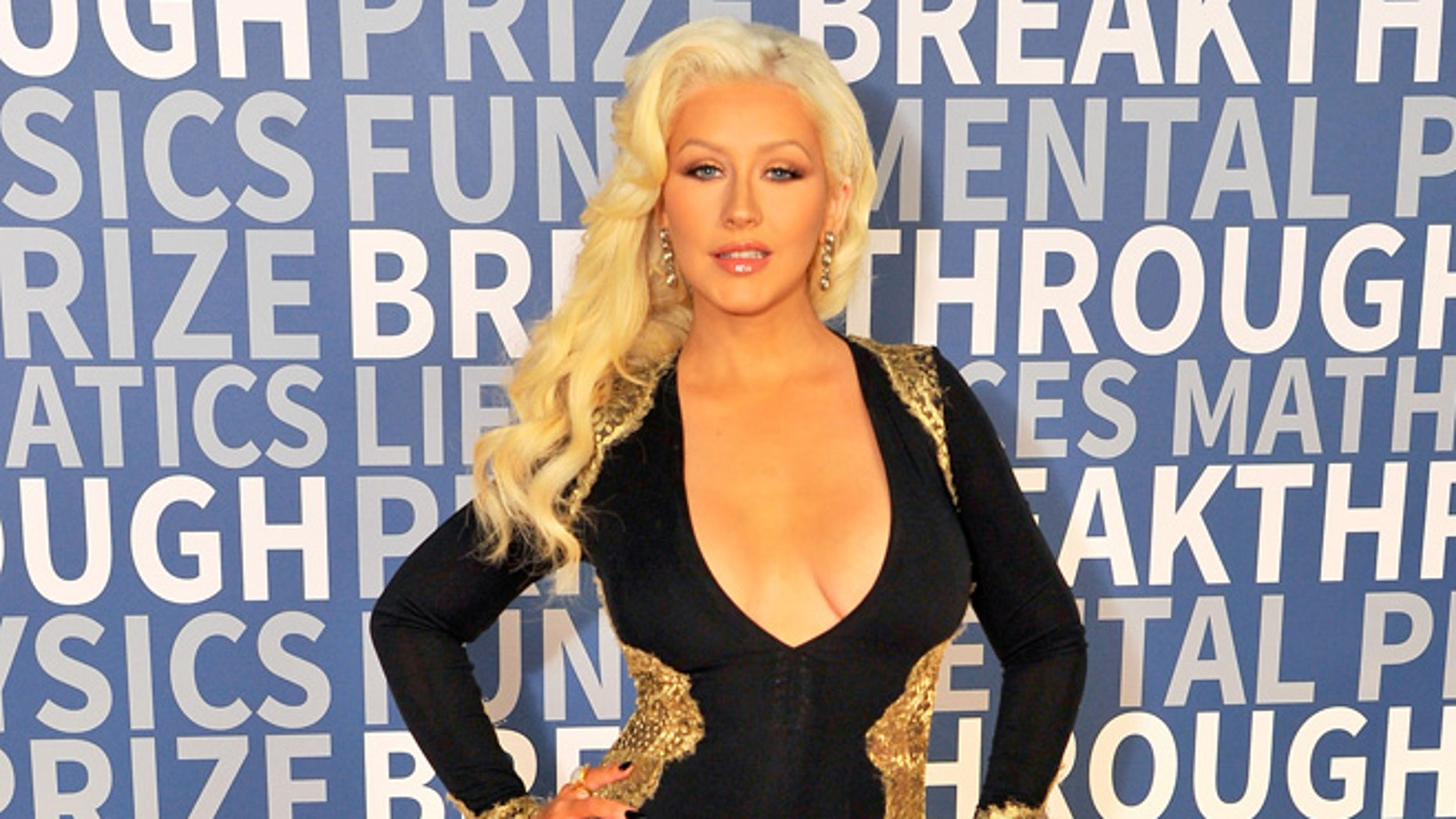 MOUNTAIN VIEW, CA - NOVEMBER 08:  Singer/songwriter Christina Aguilera attends the 2016 Breakthrough Prize Ceremony on November 8, 2015 in Mountain View, California.  (Photo by Steve Jennings/Getty Images for Breakthrough Prize)