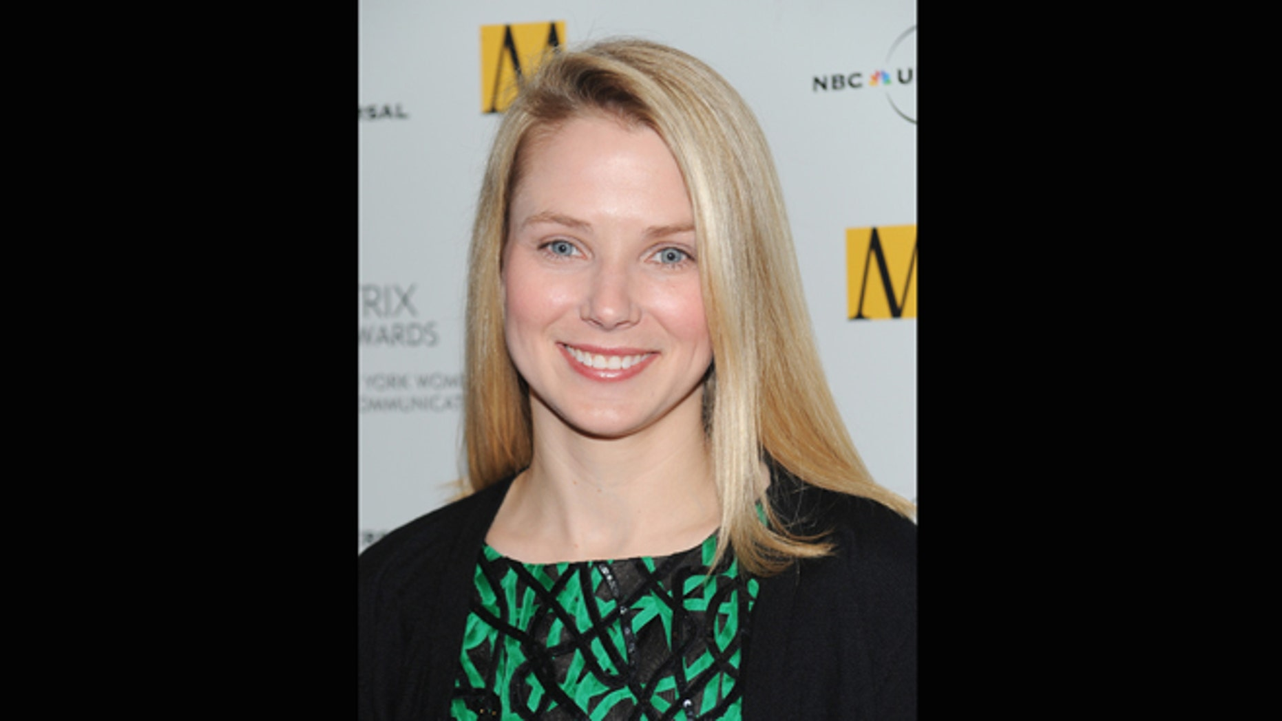 April 19, 2010: File photo of the then-Google vice president of search products and user experience, Marissa Mayer, attending the 2010 Matrix Awards presented by the New York Women in Communications at the Waldorf-Astoria Hotel in New York.