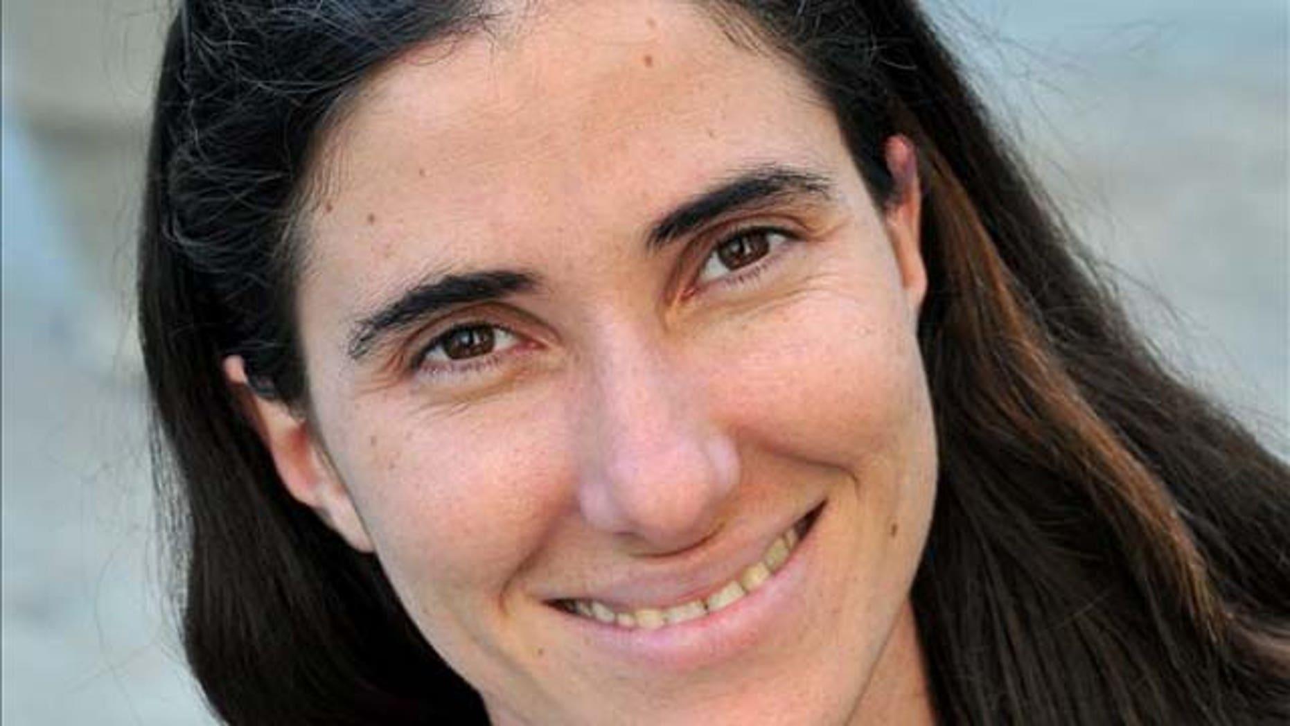 Yoani Sanchez's blog gets more than 14 million hits a month.