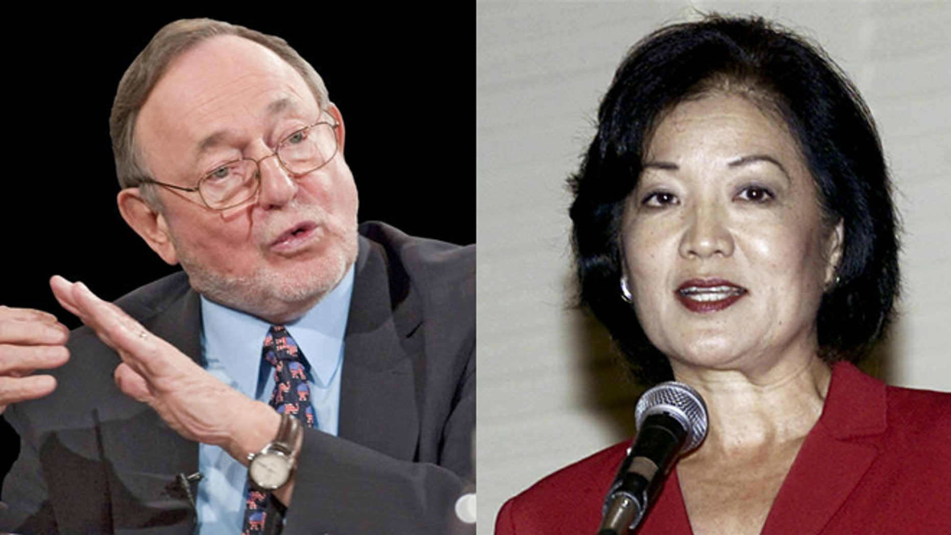 FILE: Rep. Don Young, R-Alaska, and Rep. Mazie Hirono, D-Hawaii