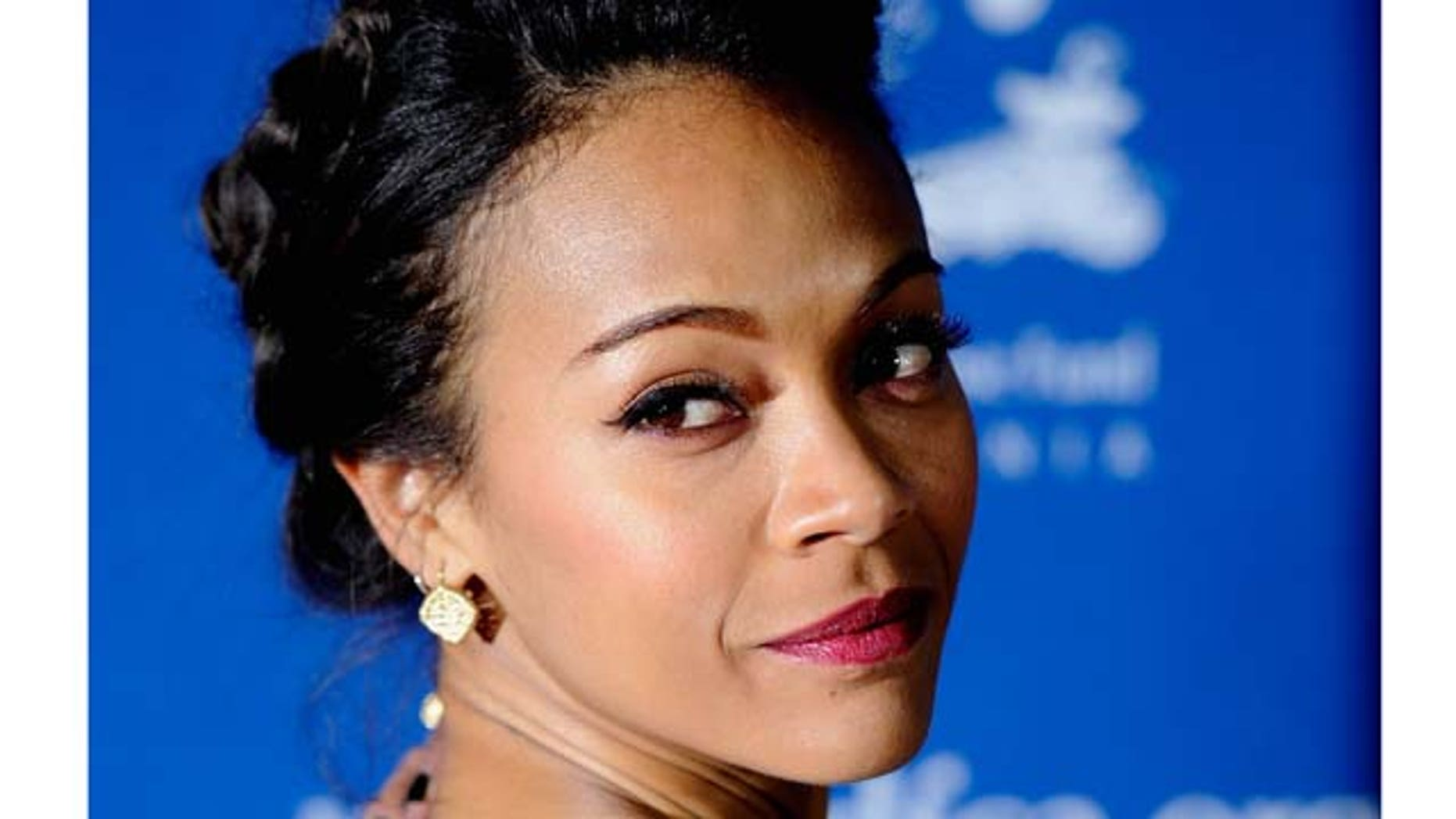 BEVERLY HILLS, CA - DECEMBER 01:  Actress Zoe Saldana arrives at The Children's Defense Fund's 21st Annual Beat The Odds Awards at Beverly Hills Hotel on December 1, 2011 in Beverly Hills, California.  (Photo by Frazer Harrison/Getty Images)