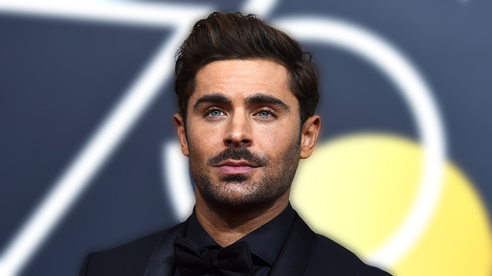 Zac Efron at the 2018 Golden Globe Awards at the Beverly Hilton Hotel, in Beverly Hills, Calif.