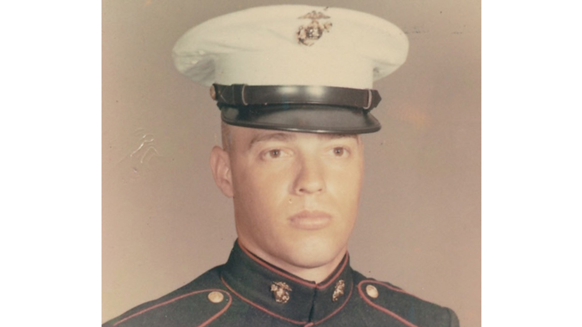 Zambito is pictured here as a young Marine.