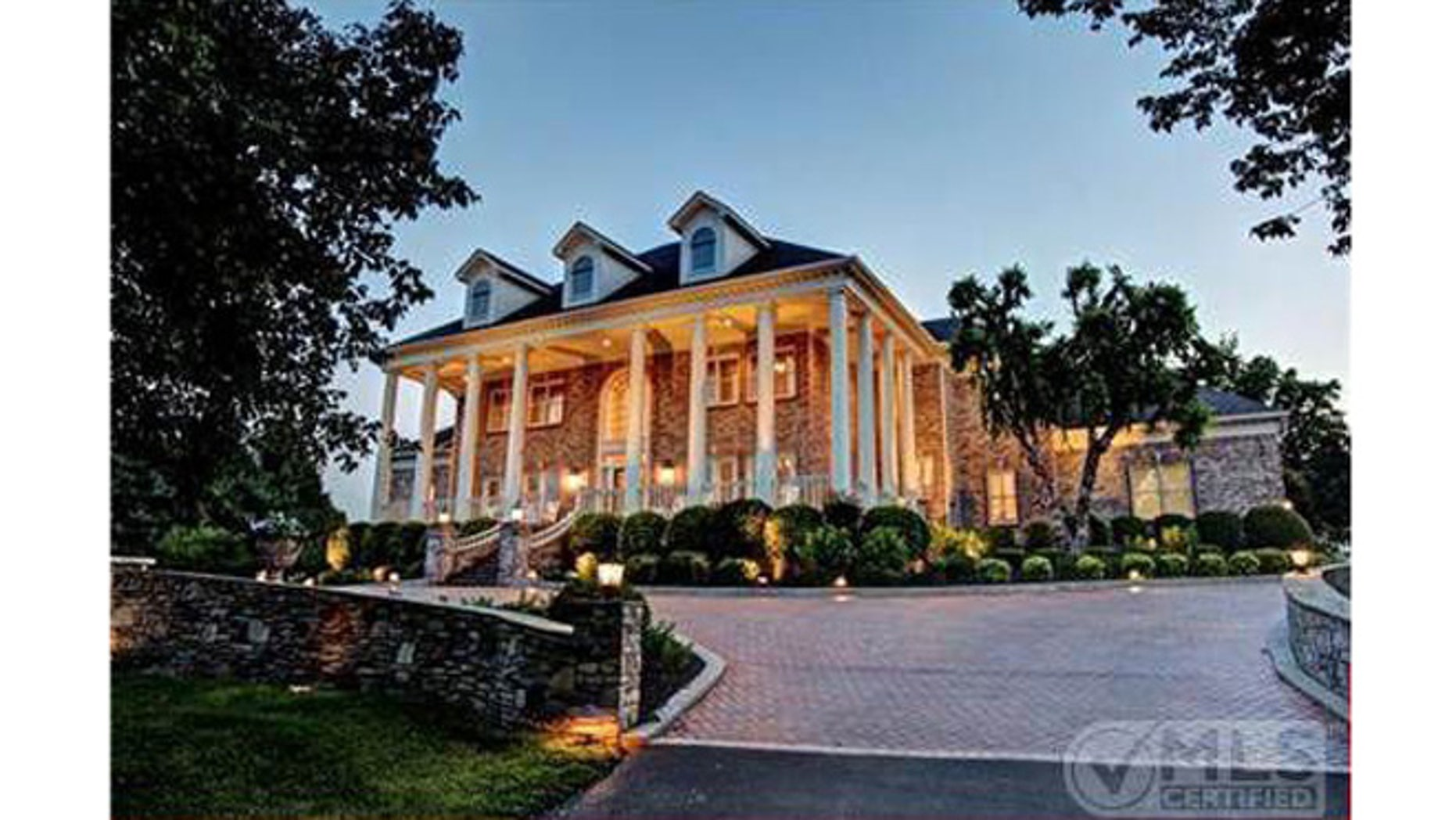 George Jones' Nashville home.