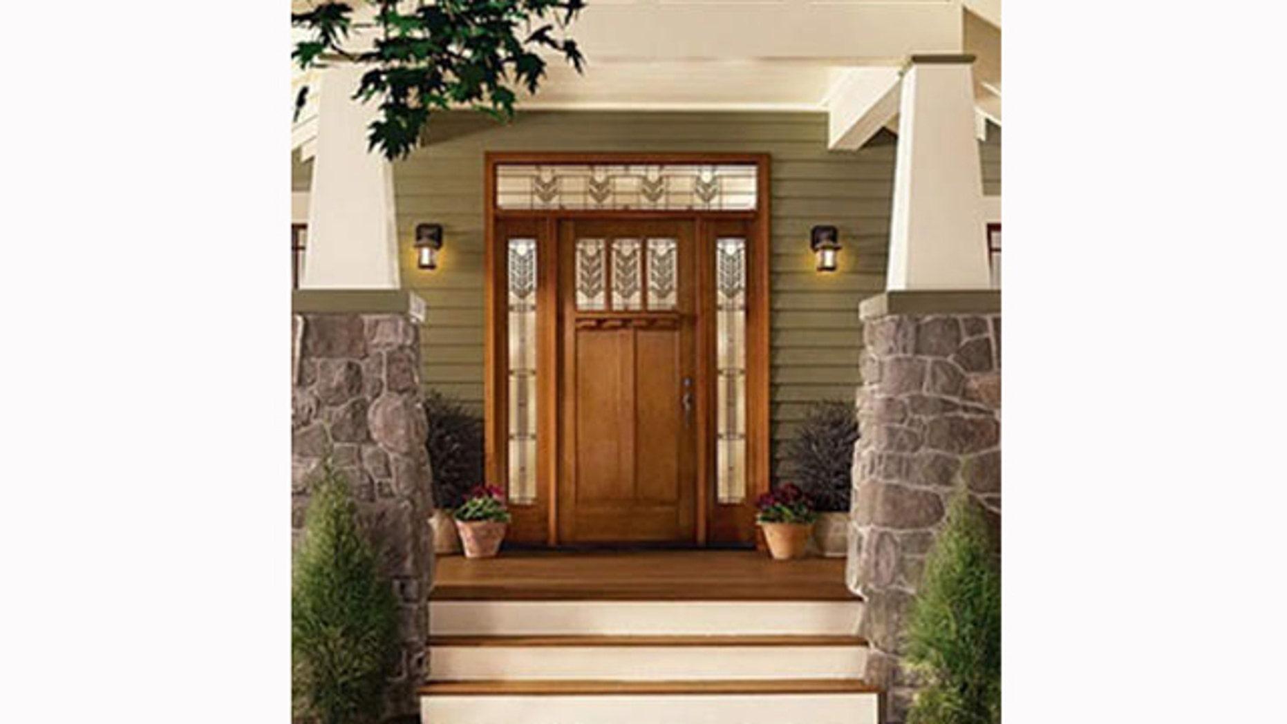 Fiberglass-composite doors are increasingly more popular.