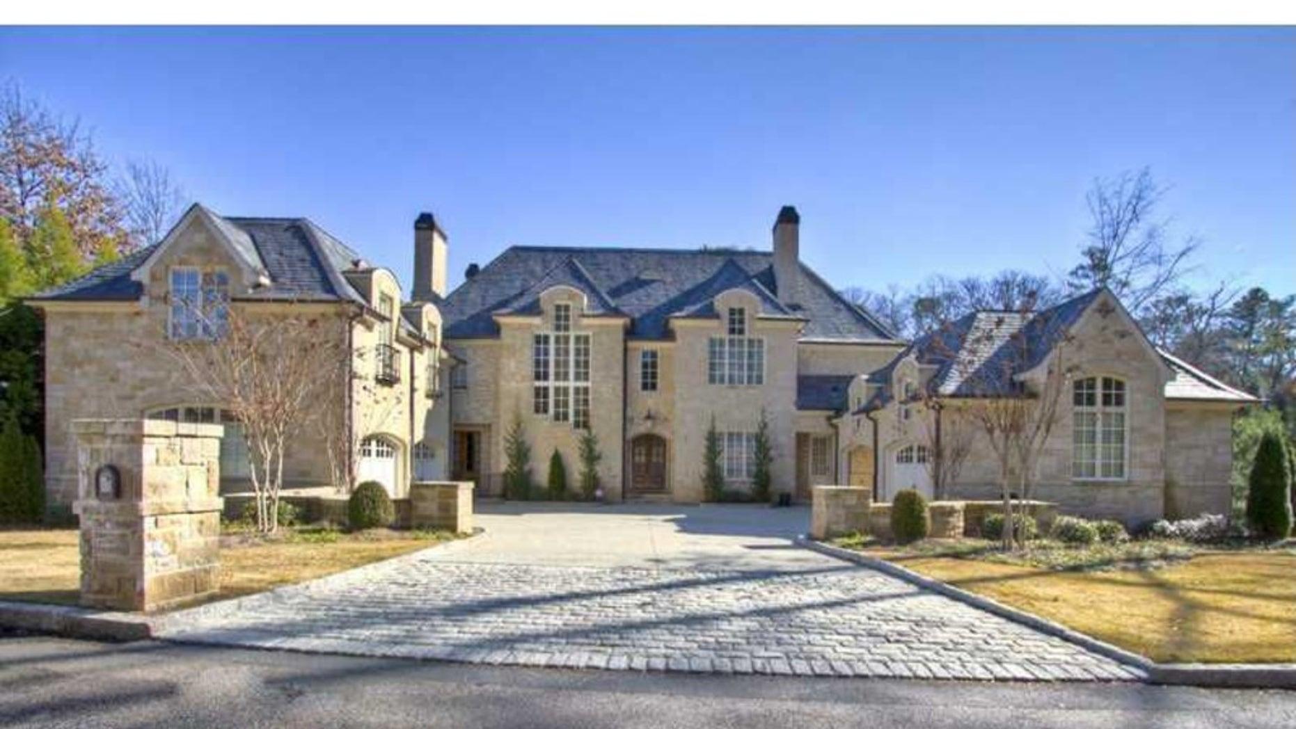 Allen Iverson's Atlanta home.