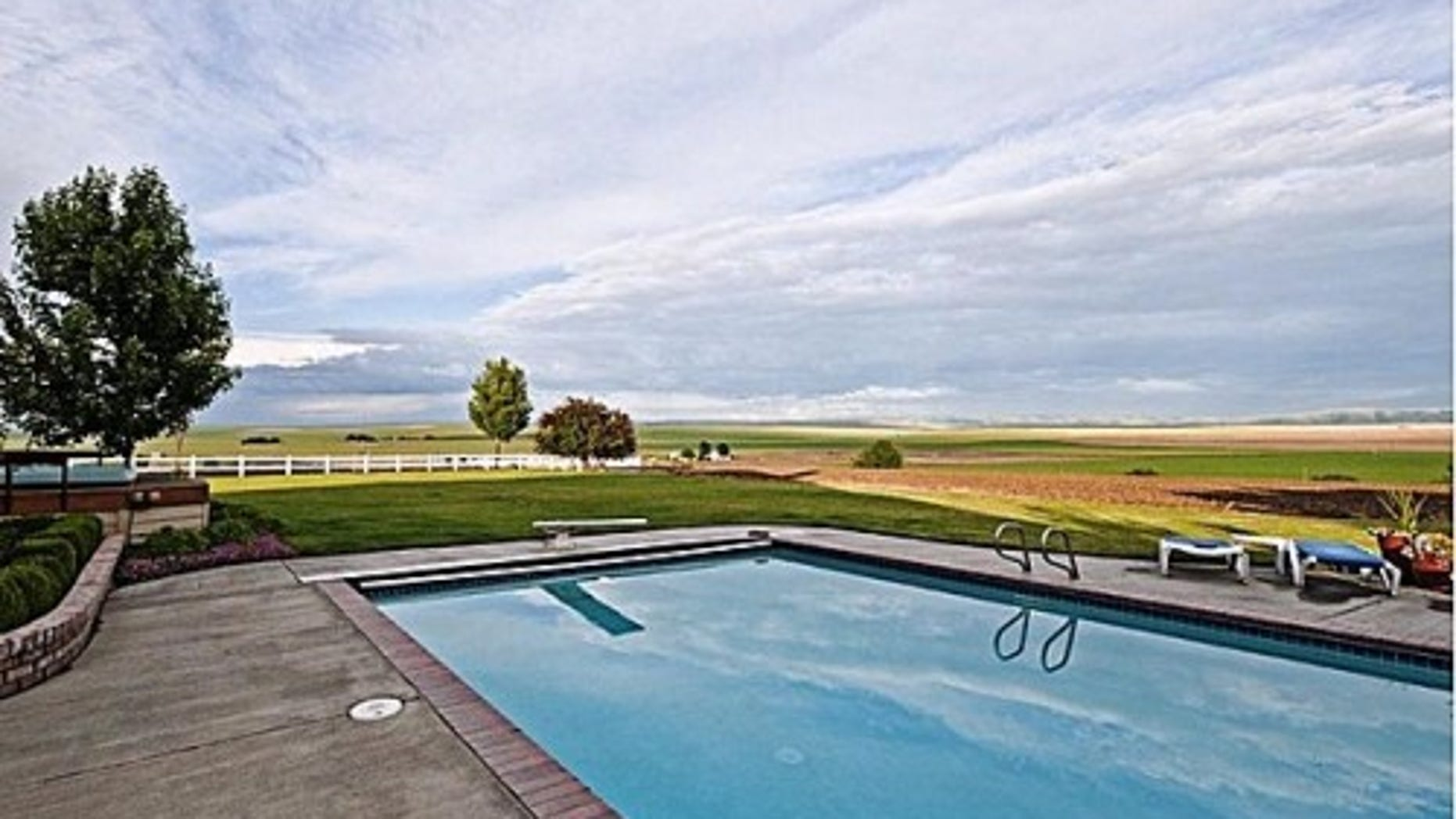 This Adams, Ore. home serves as a diving inspiration.
