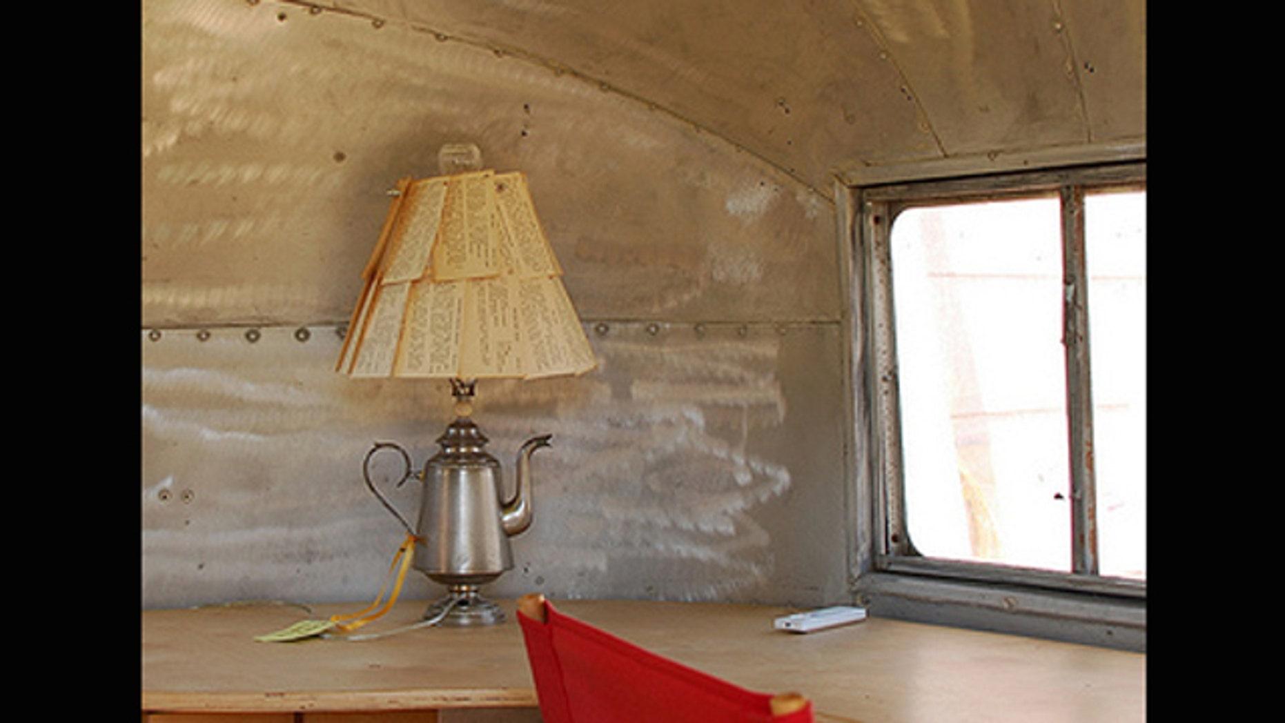 Photo of DIY lamp