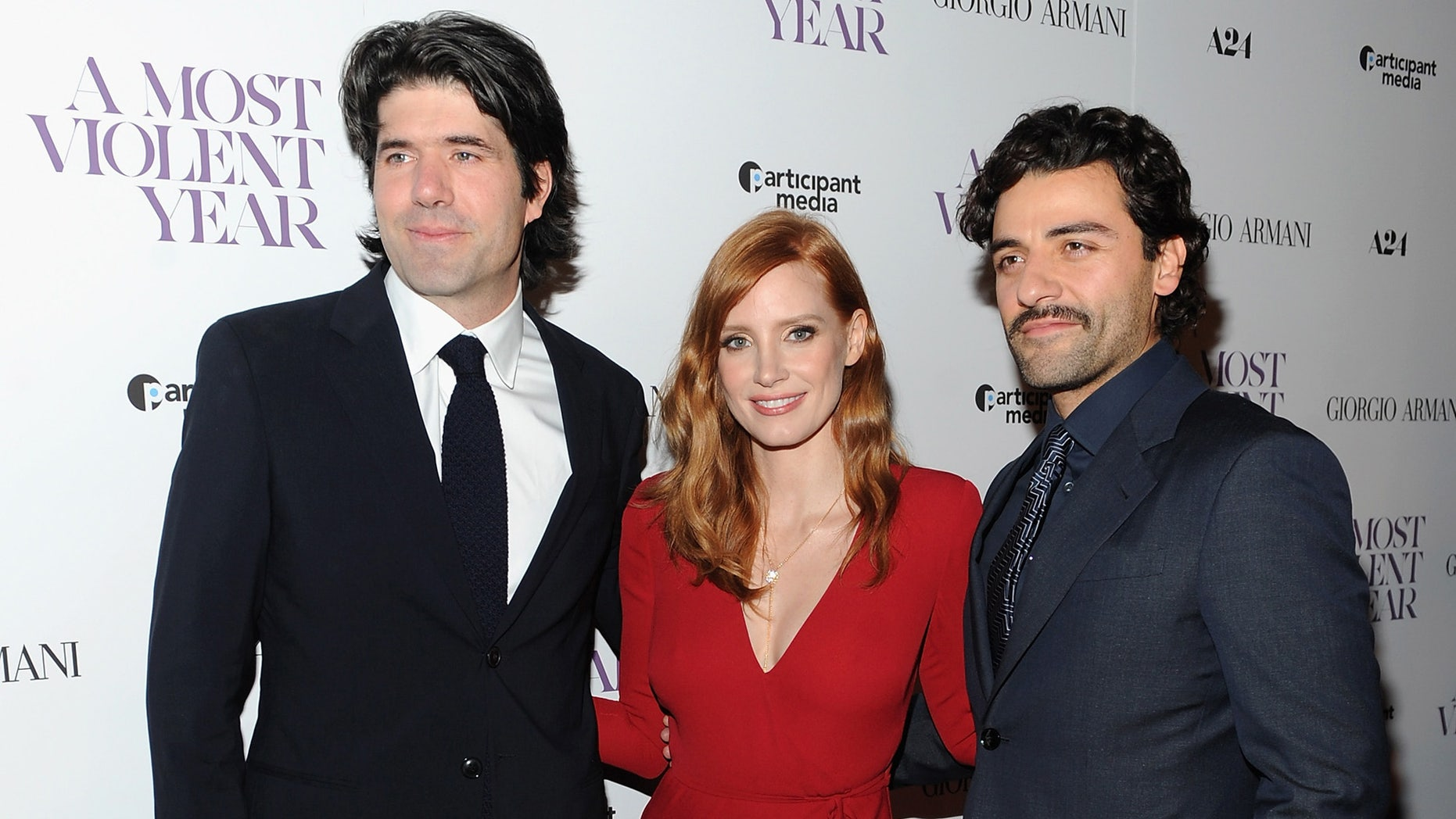 A Most Violent Year Chastain Isaac Chandor