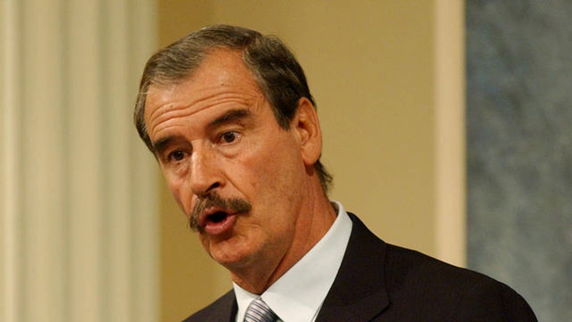 Vicente Fox, former Mexican President.