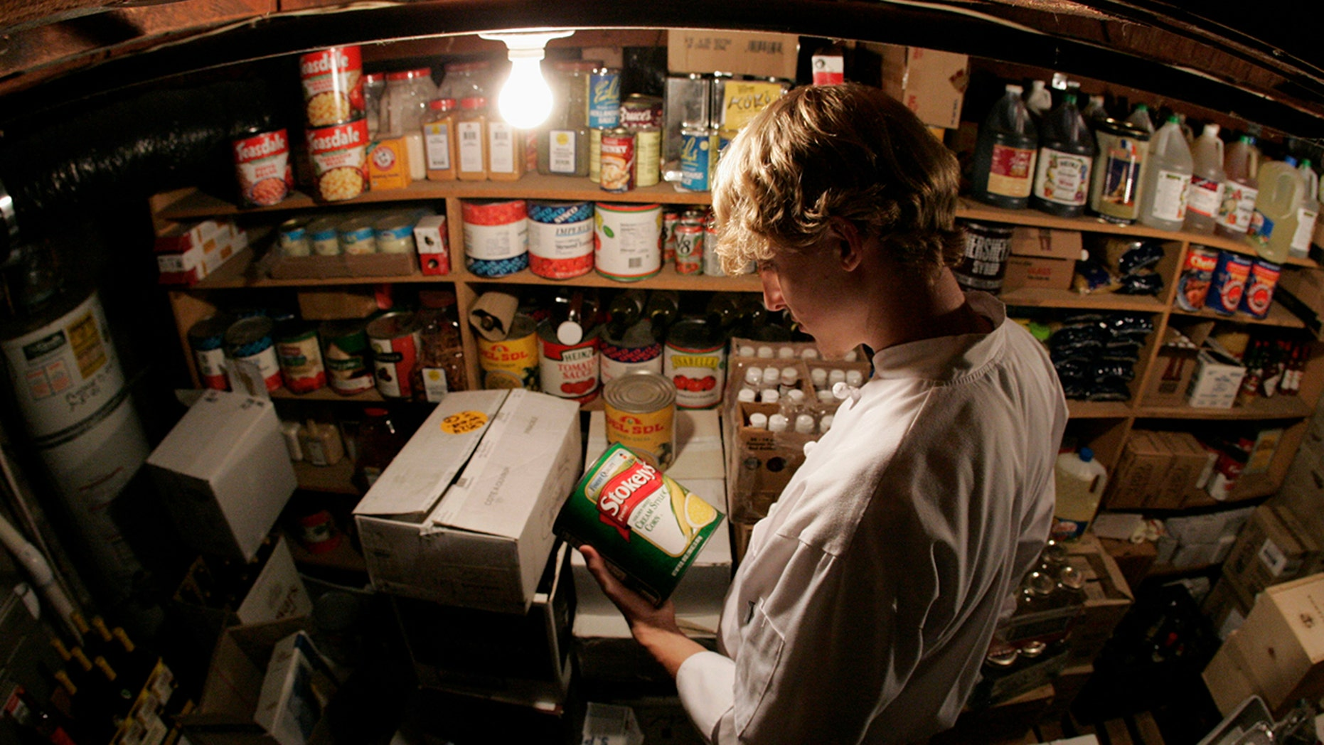 Preppers can teach us a thing or two about organizing our space.