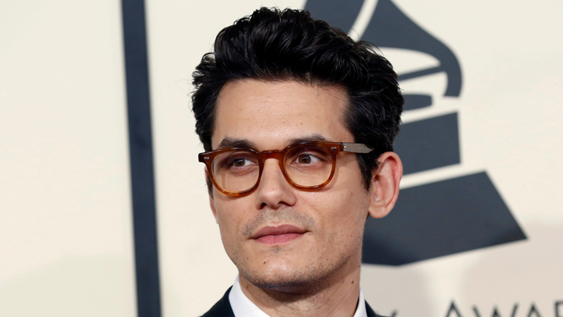 Singer John Mayer arrives at the 57th annual Grammy Awards in Los Angeles, California - Mario Anzuoni (REUTERS)